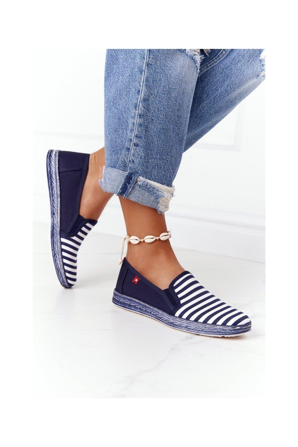 Dámske tenisky farba biela kód obuvi HH276002 NAVY/WHITE