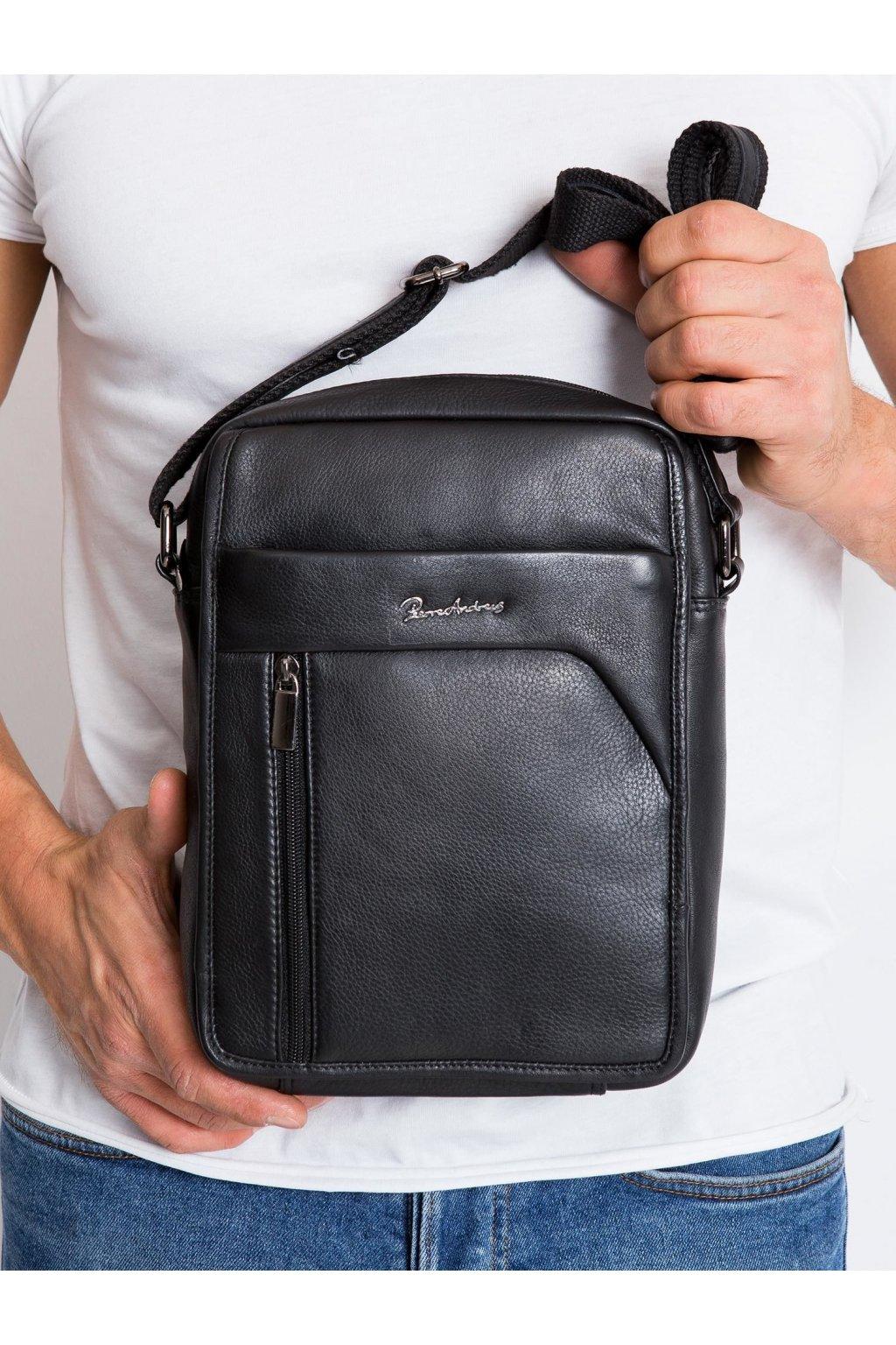 Pánska kabelka čierna kód CE-TR-502-NDM-PA.46