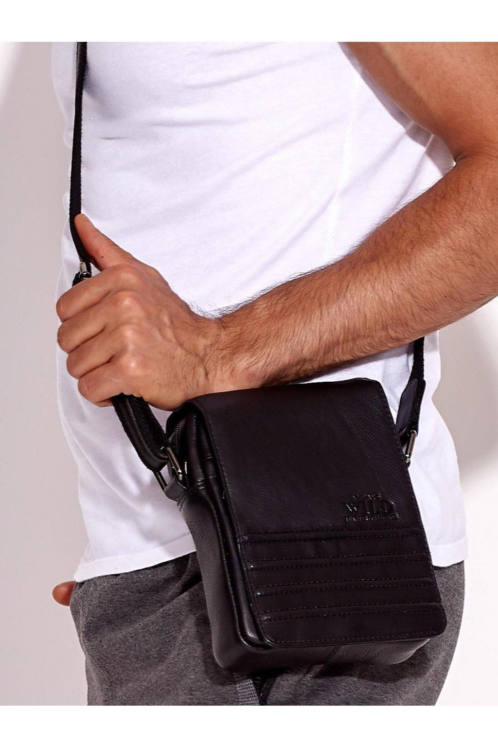 Pánska kabelka čierna kód CE-TR-503-NDM.52