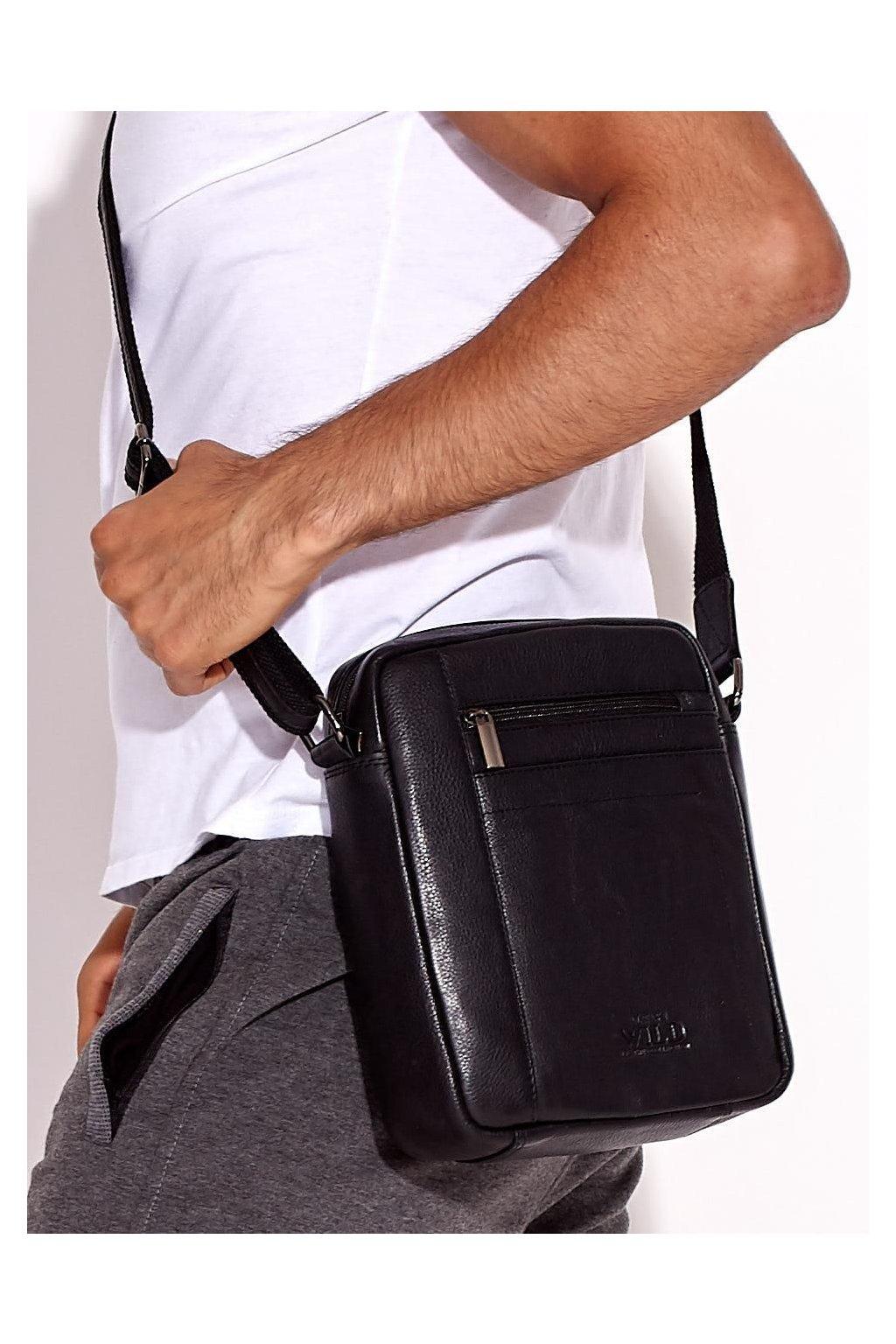 Pánska kabelka čierna kód CE-TR-8022-NDM.19