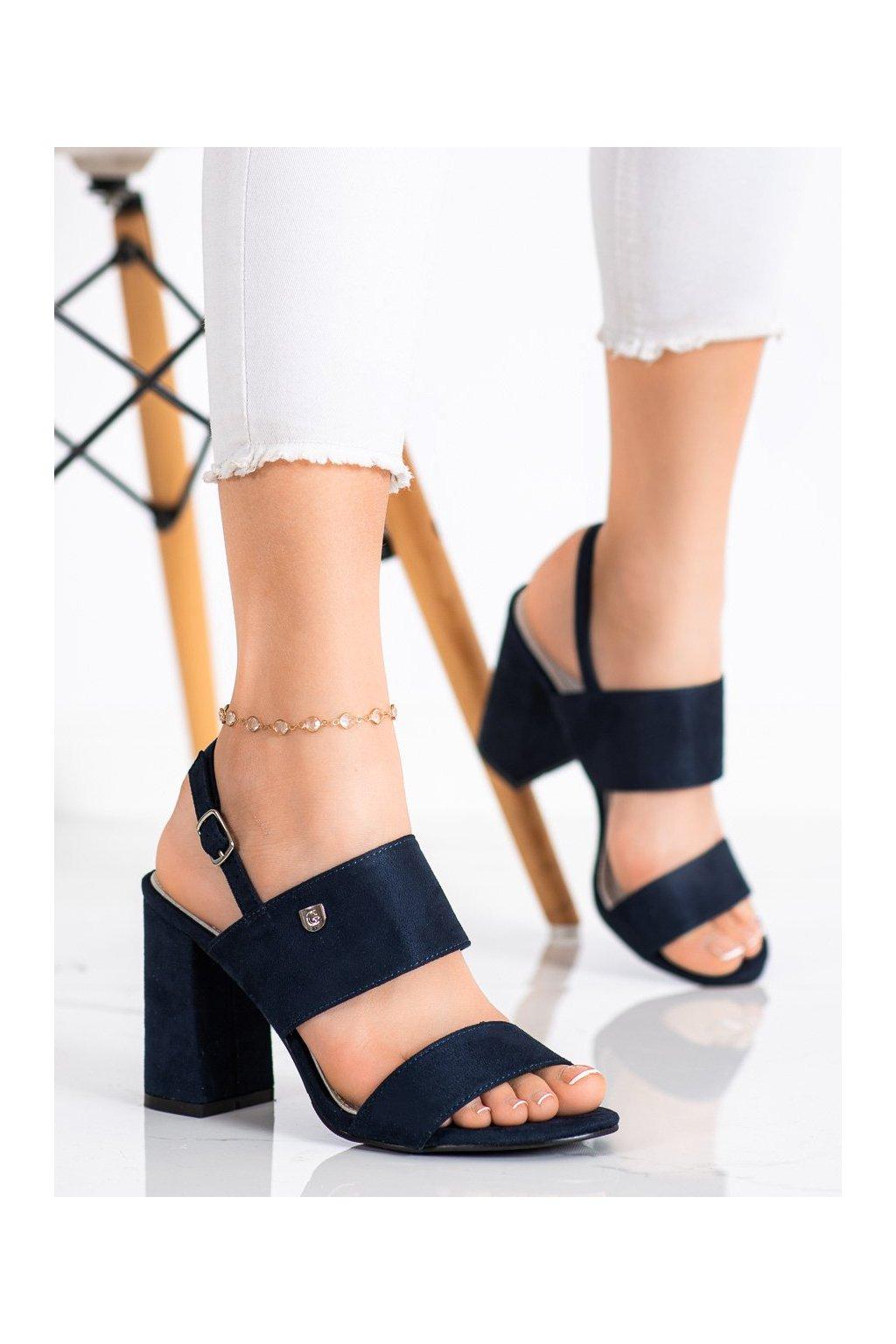 Modré sandále Goodin kod FL241A-N