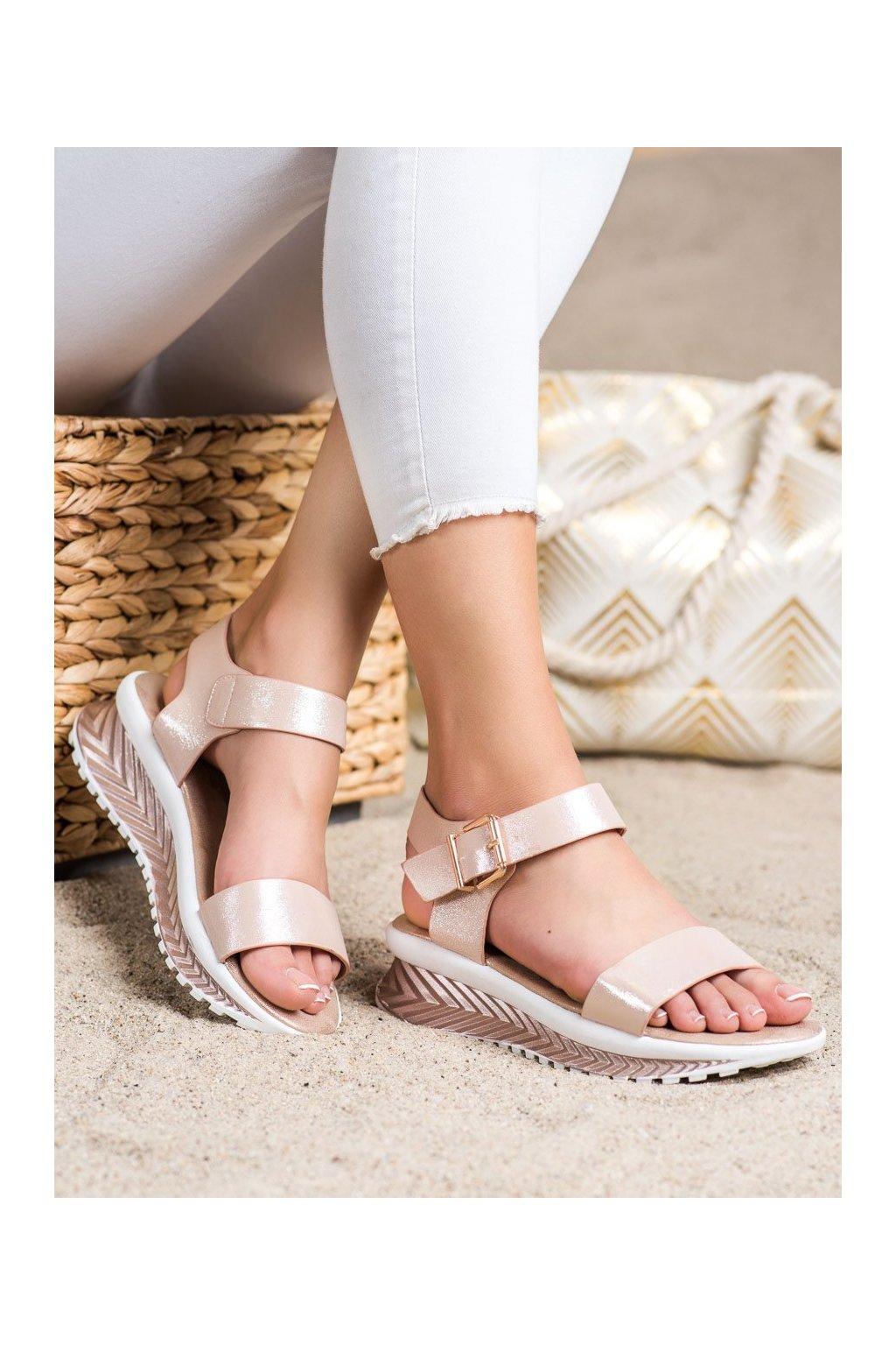 Žlté sandále Groto gogo kod G250CH