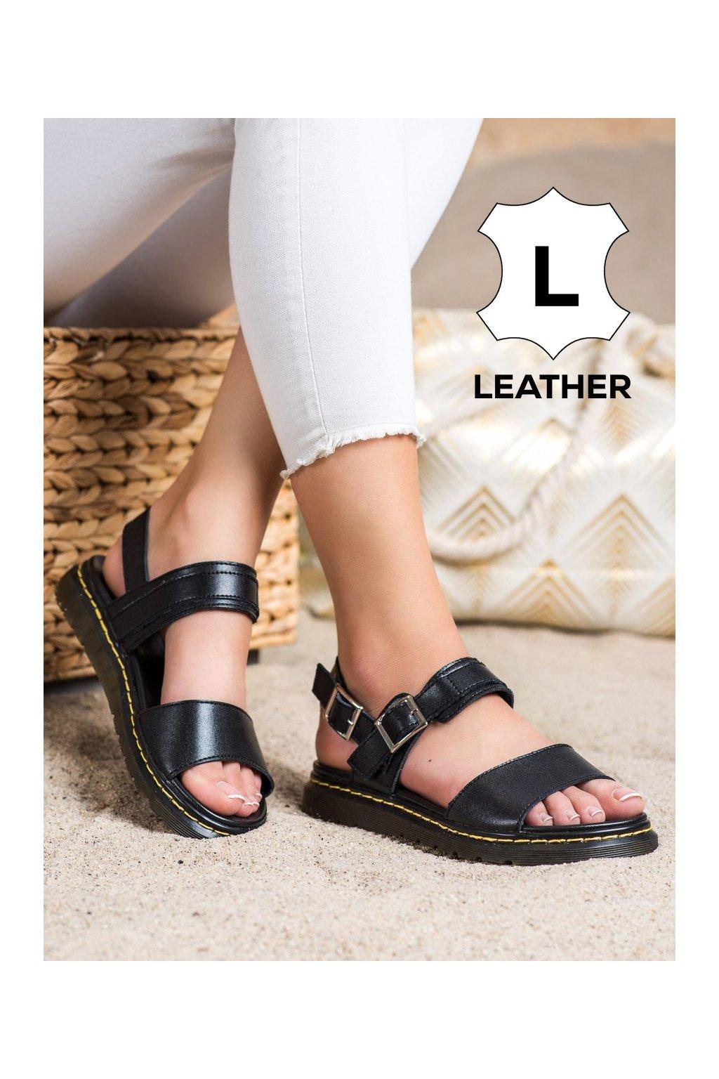 Čierne sandále Filippo kod DS2040/21B