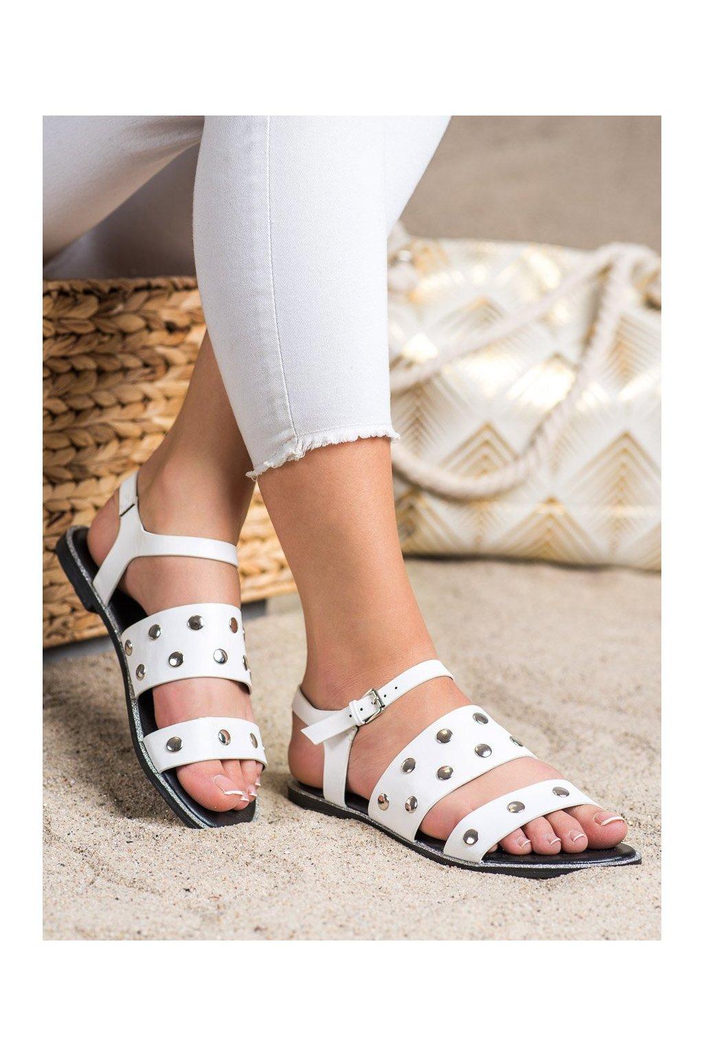 Biele sandále Goodin kod GD-YQ-85W