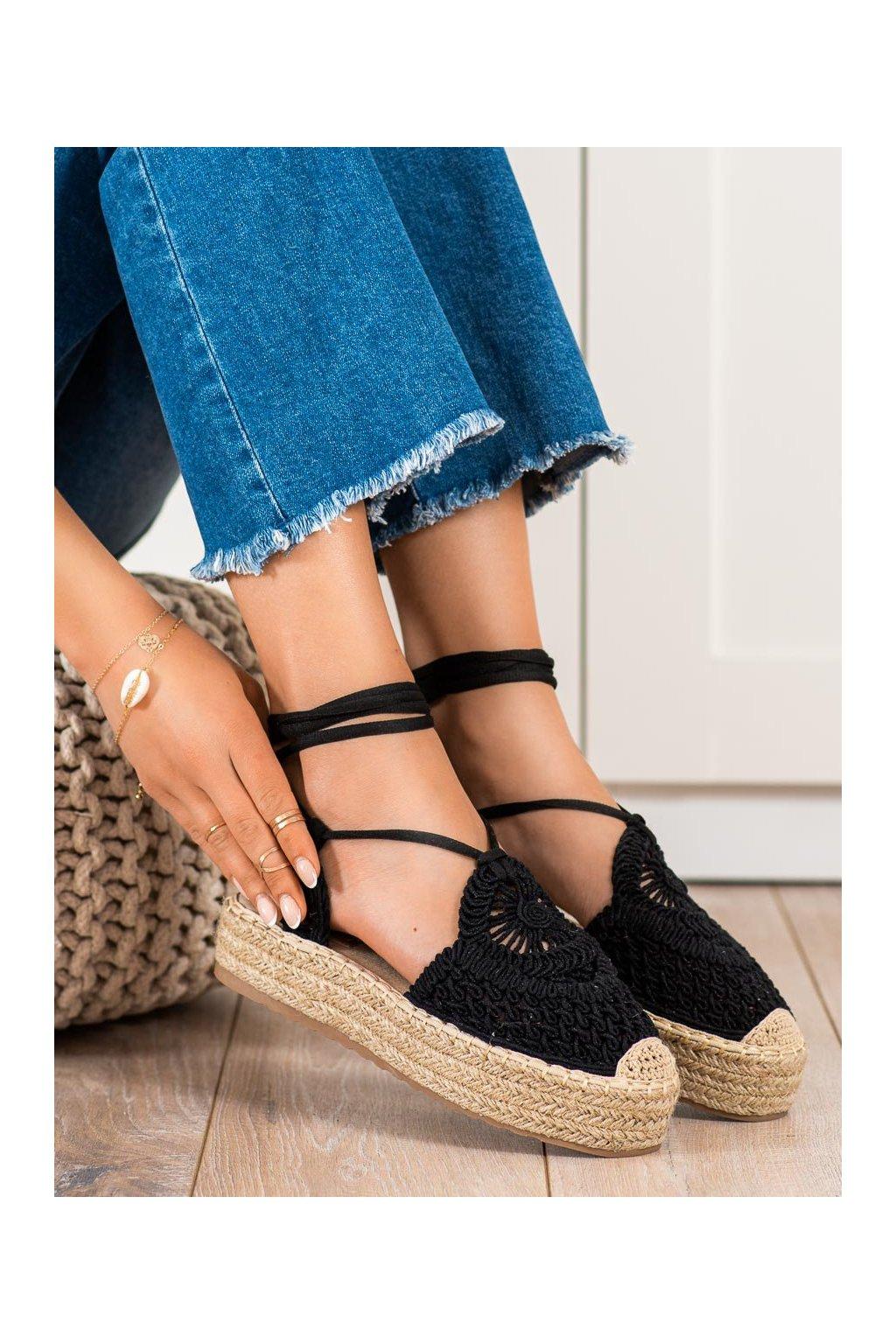 Čierne sandále Seastar kod JH190B