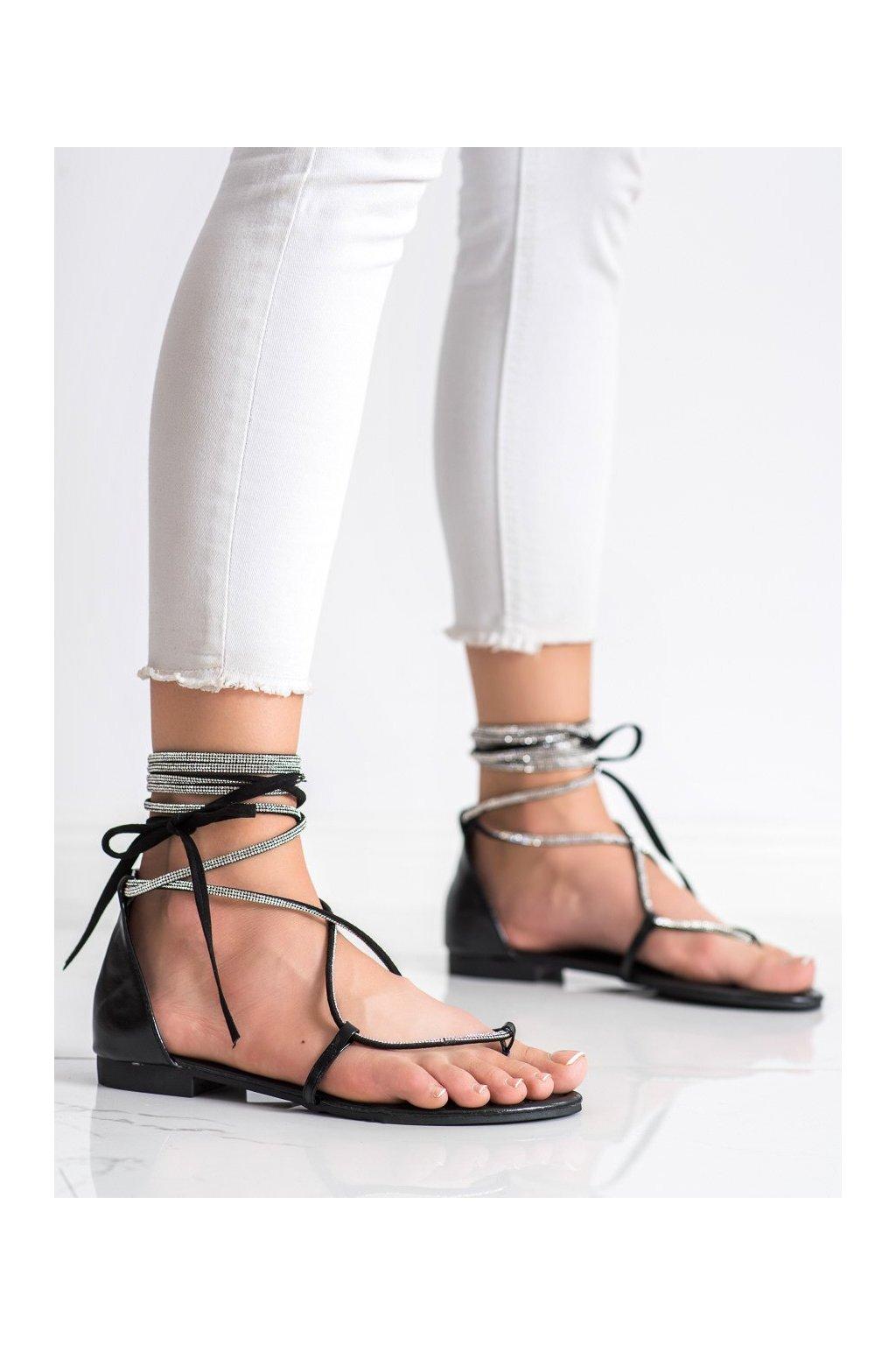Čierne sandále Seastar kod JH187B