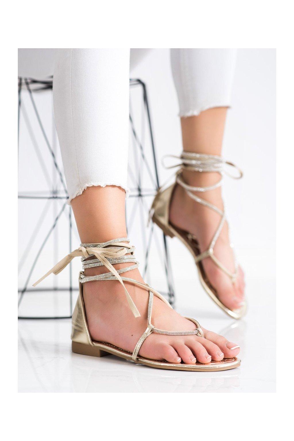 Žlté sandále Seastar kod JH187GO