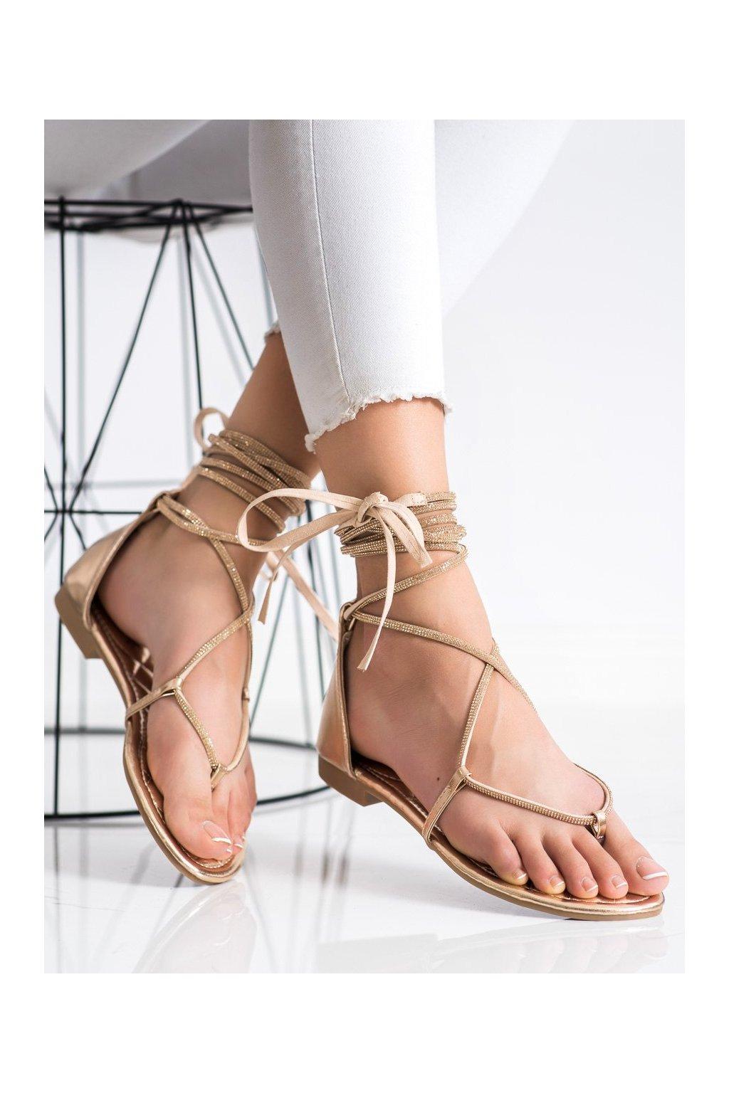 Žlté sandále Seastar kod JH187CHA