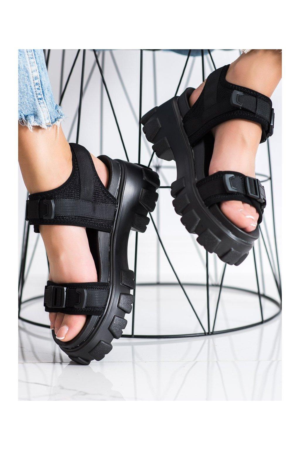Čierne sandále Seastar kod NS191B
