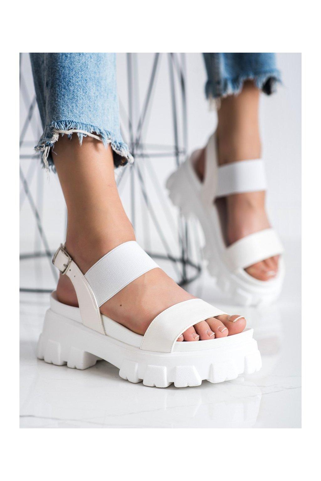 Biele sandále Seastar kod NS192W