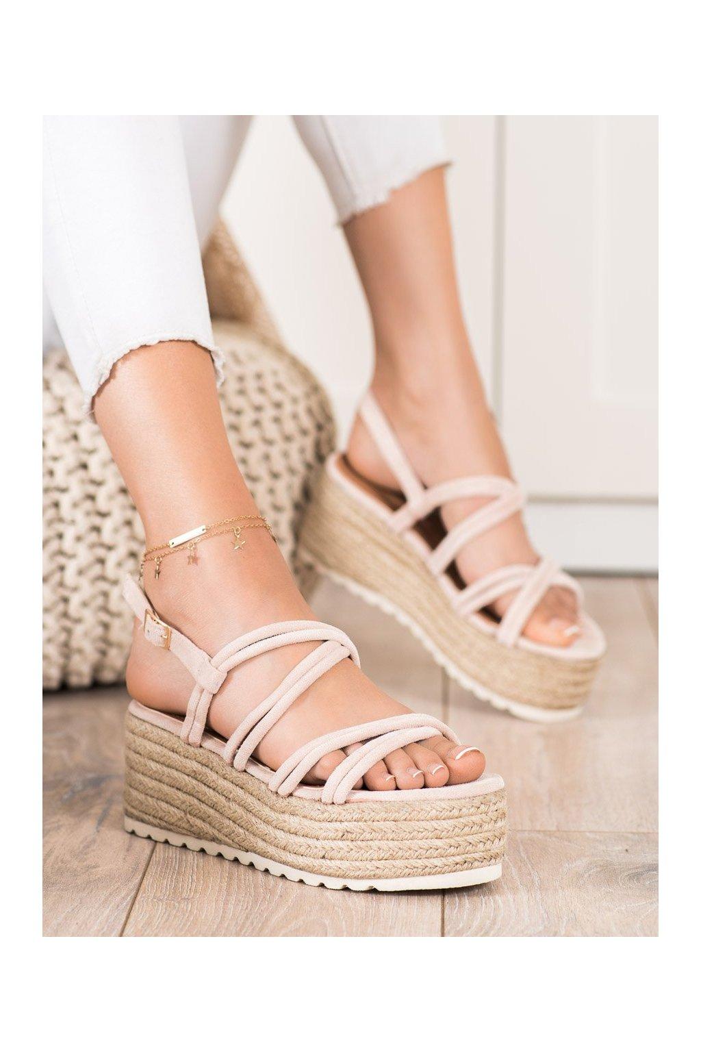 Hnedé sandále Seastar kod JH151BE