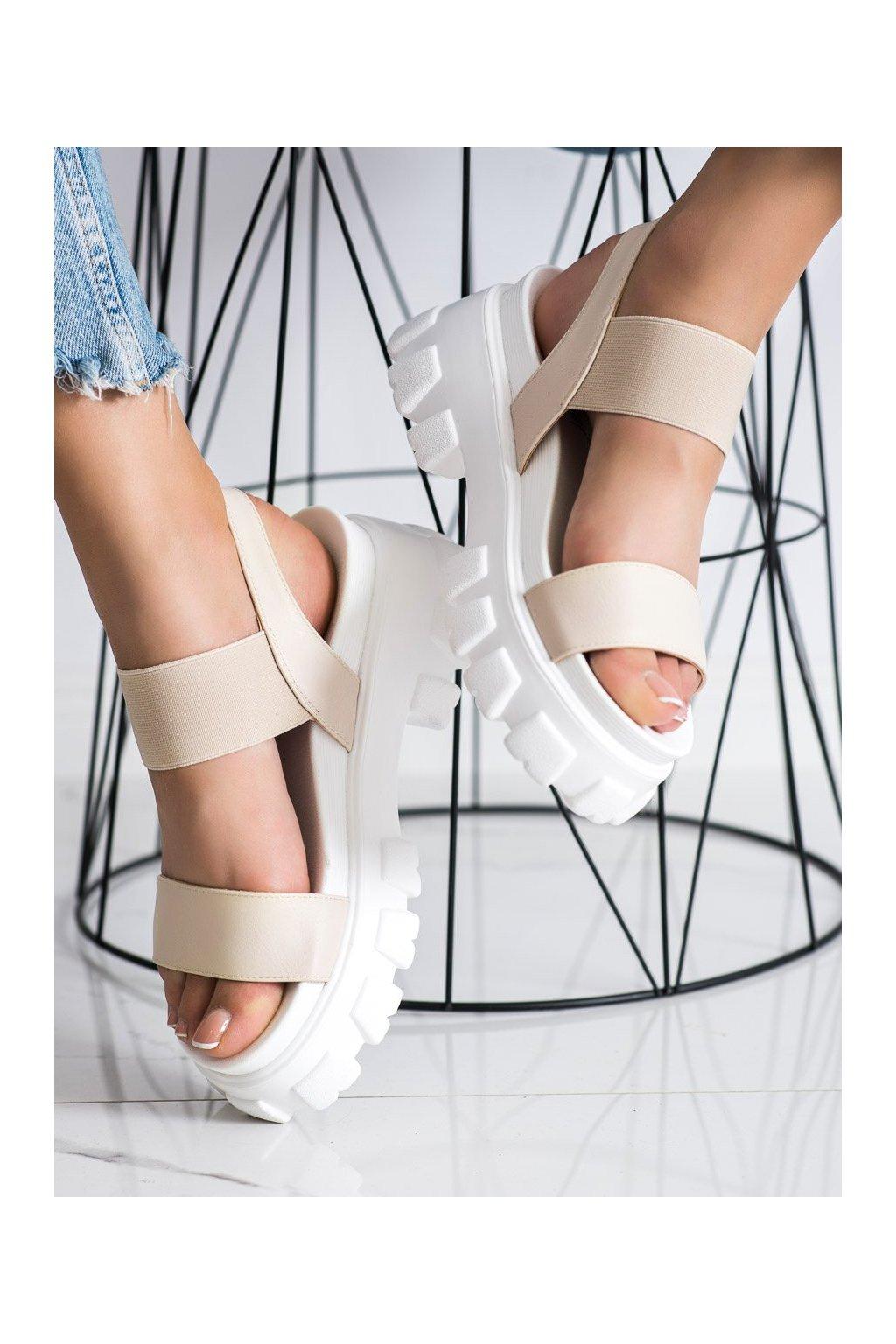 Hnedé sandále Seastar kod NS192BE