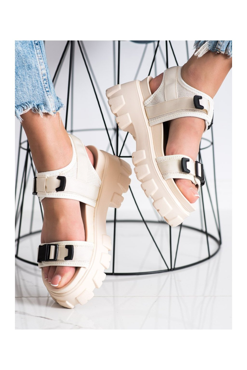 Hnedé sandále Seastar kod NS191BE