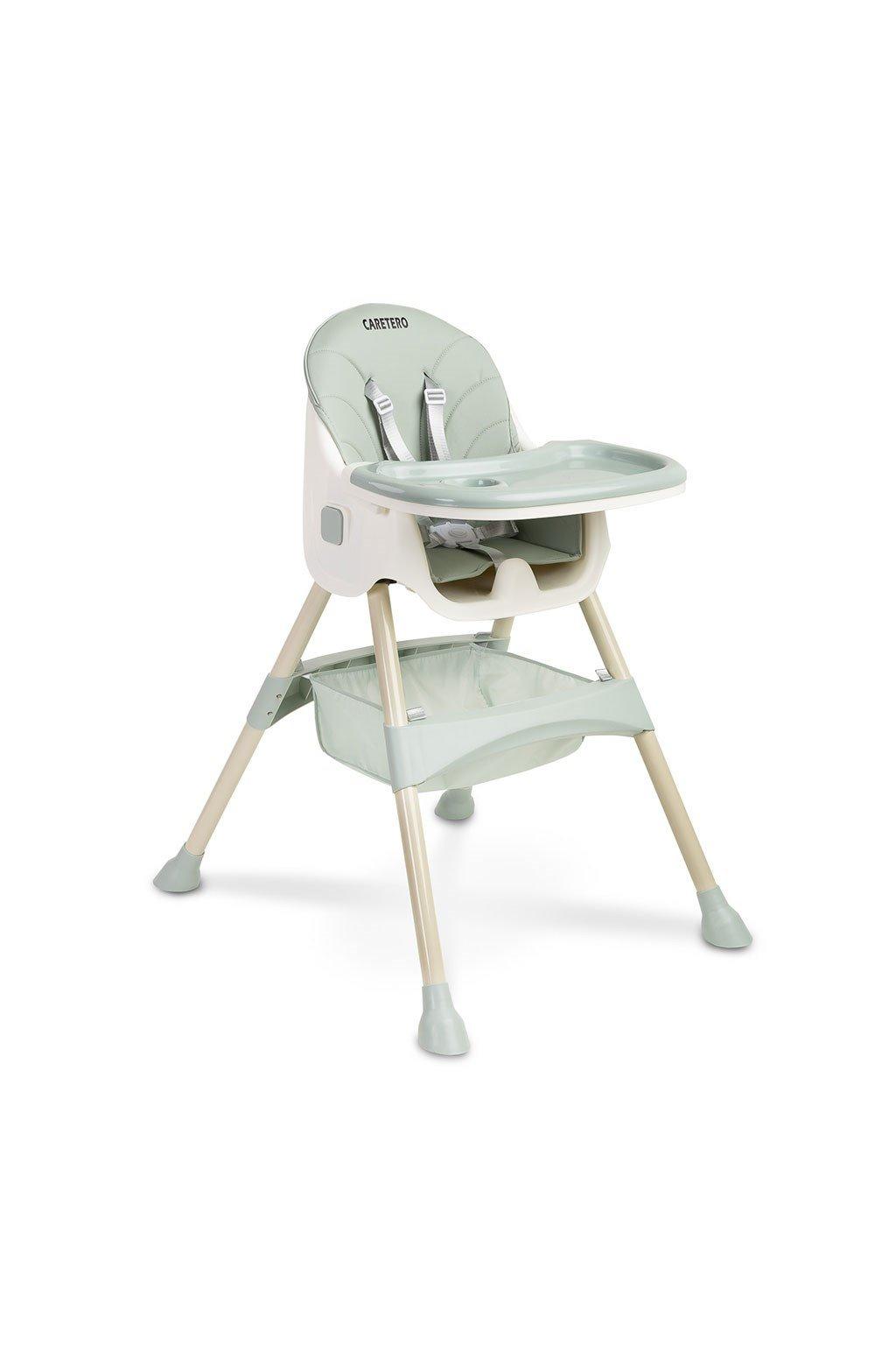 Jedálenská stolička 2v1 CARETERO Bill mint