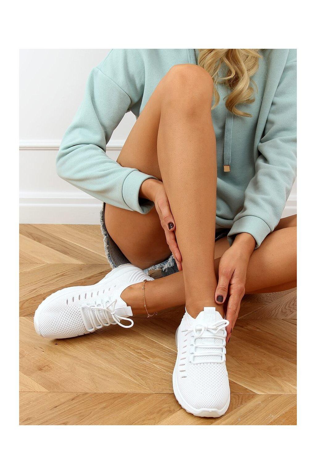 Dámske tenisky biele JHY90820