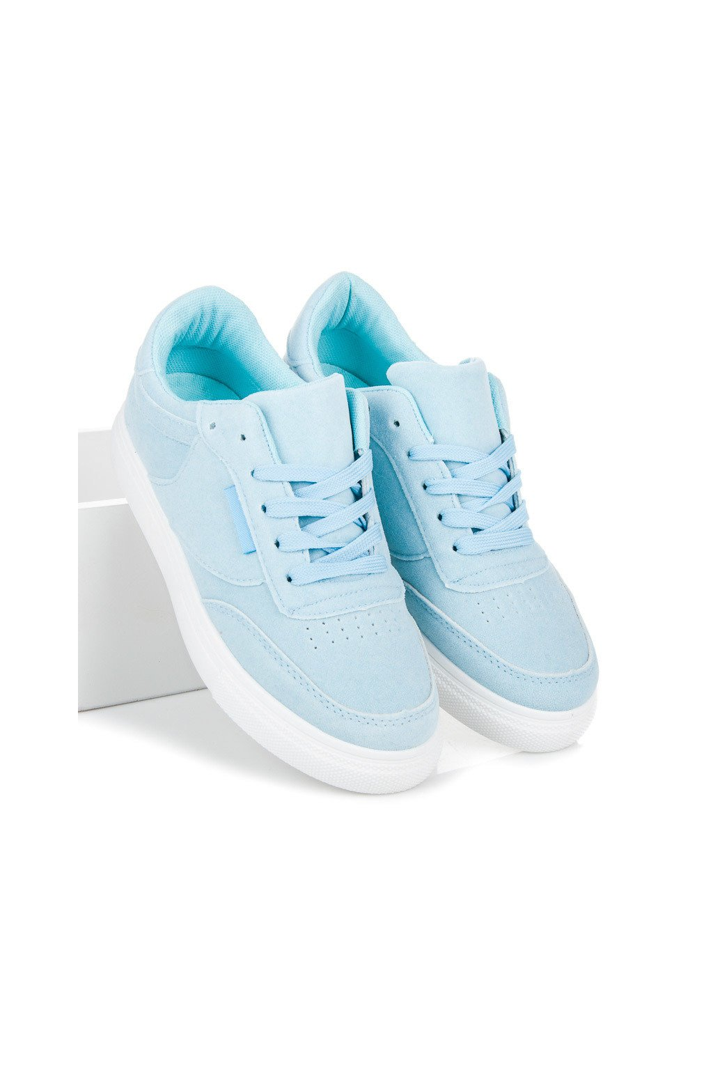 Platformové tenisky modré CNB
