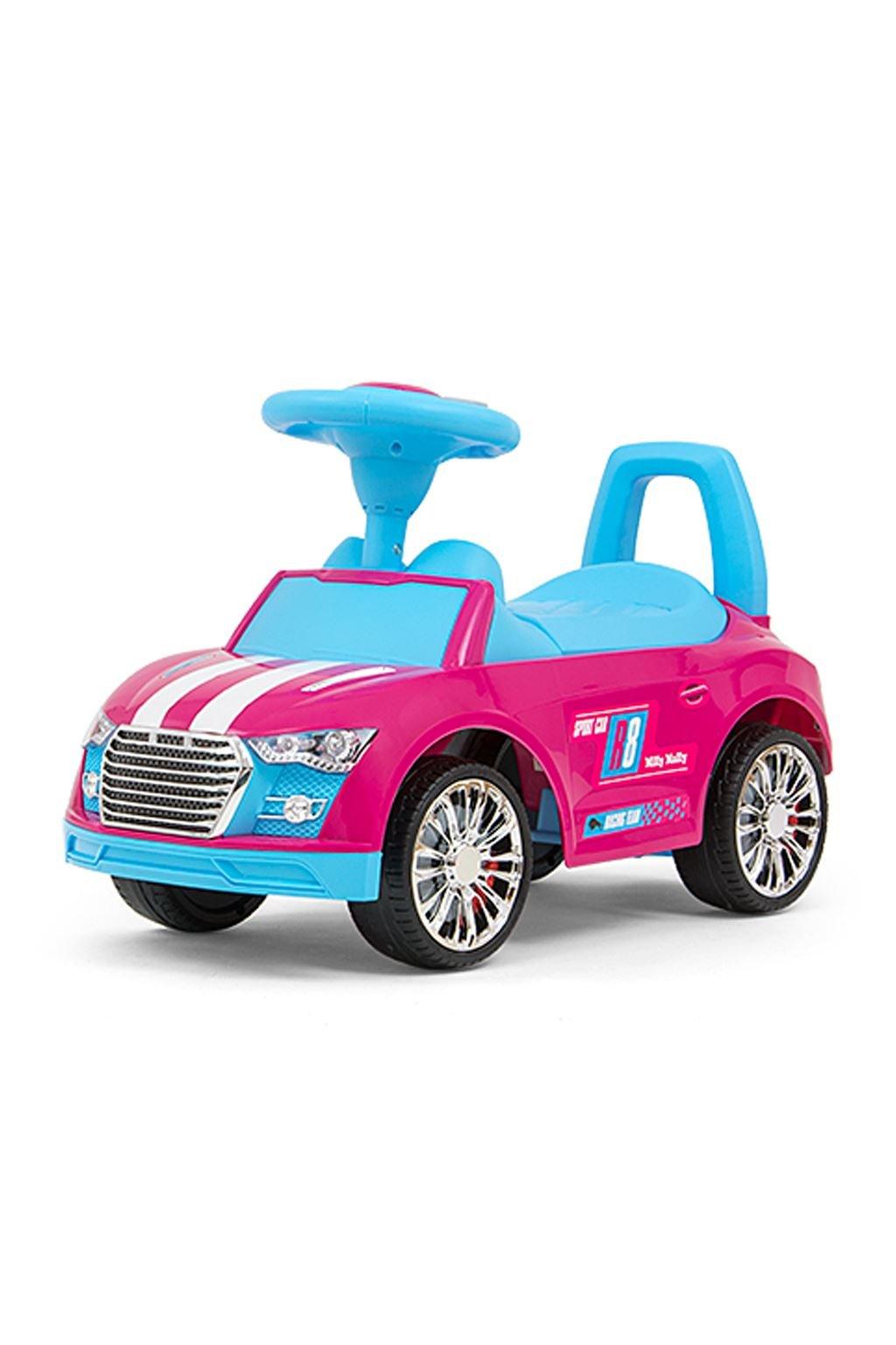 Detské odrážadlo Milly Mally Racer pink-blue POŠKODENÝ OBAL