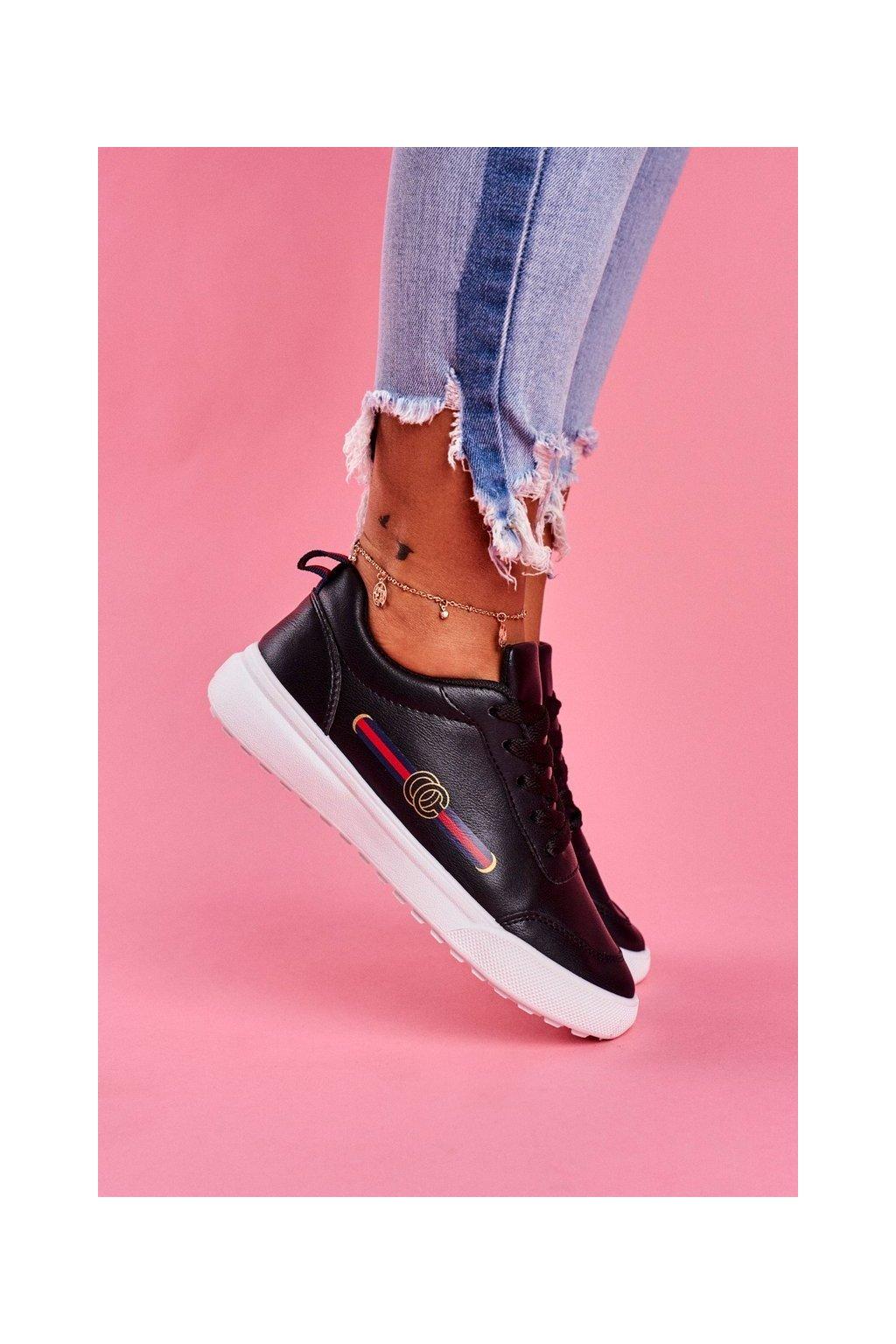 Dámska športová obuv čierna Naomi NJSK BL161P