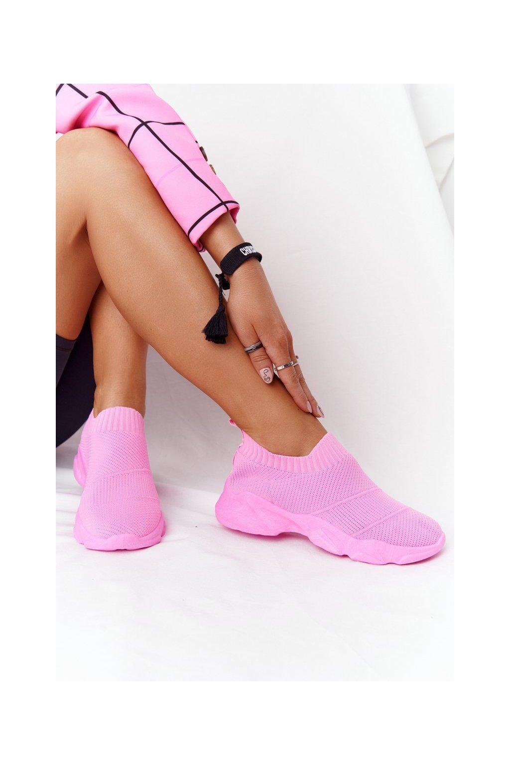 Dámske tenisky farba ružová NJSK NB399 PEACH