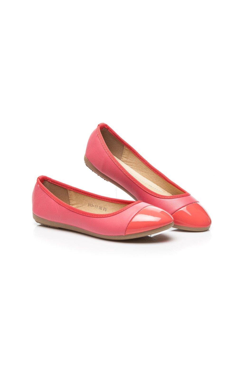 Ružové balerínky 883-11F veľ.č. 36 (Veľkosť UK6 / EUR 39)