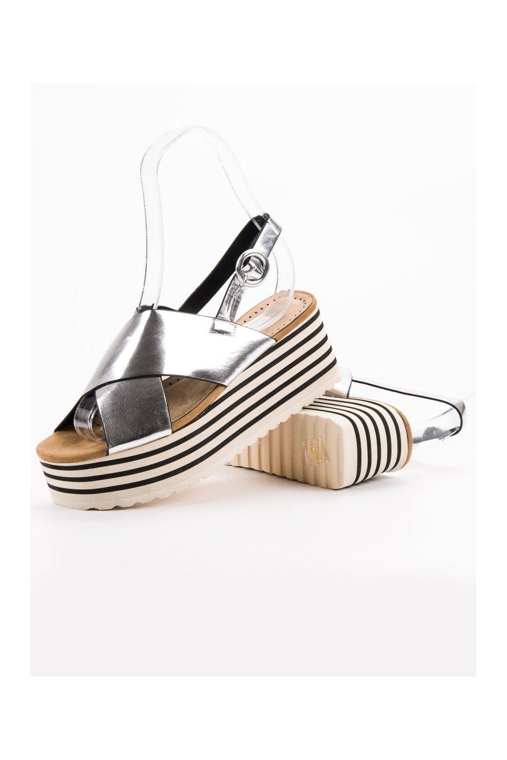 Dámske sandále NJSK C7225S