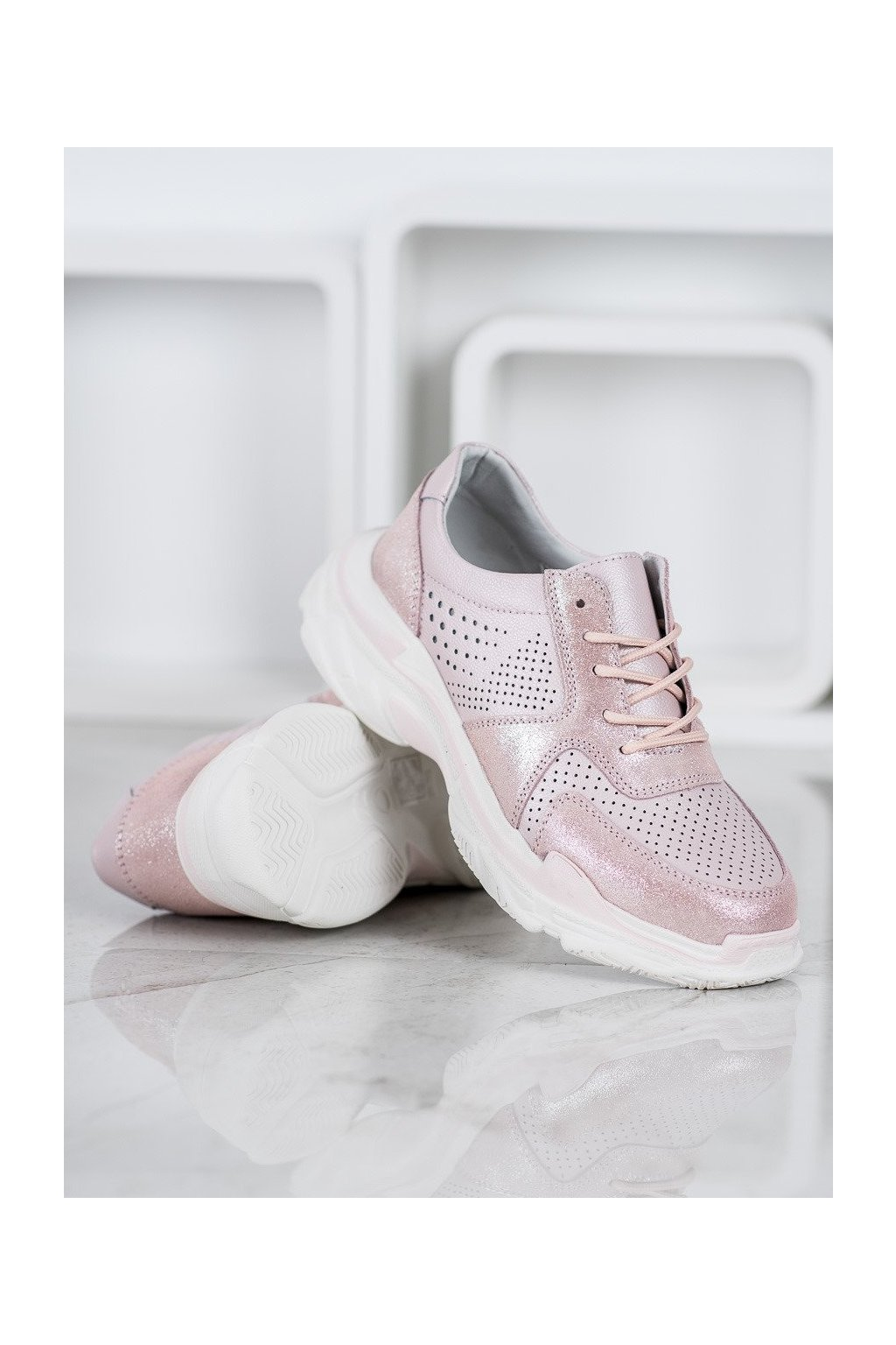 Ružové tenisky NJSK DP1426/20P