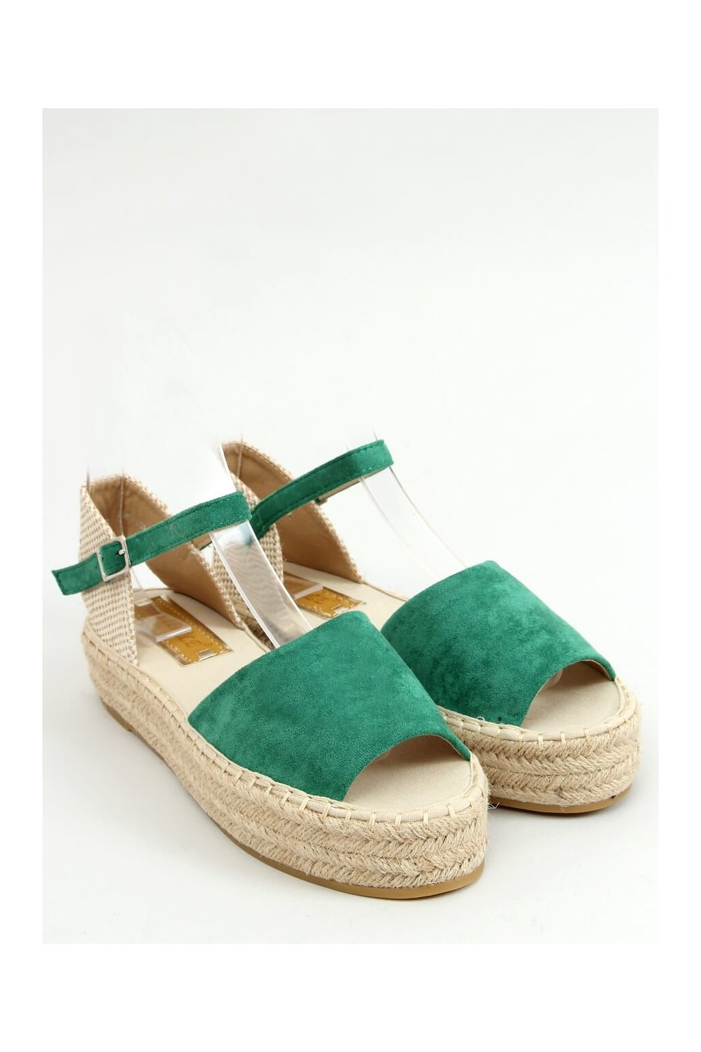 Zelené sandále NJSK A663-ESP-1