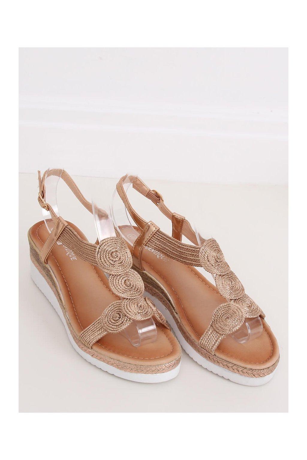 Ružové sandále NJSK L6628