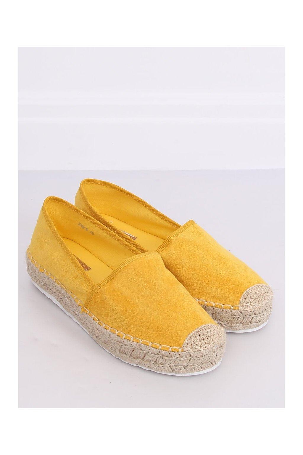 Žlté sandále NJSK JH91P