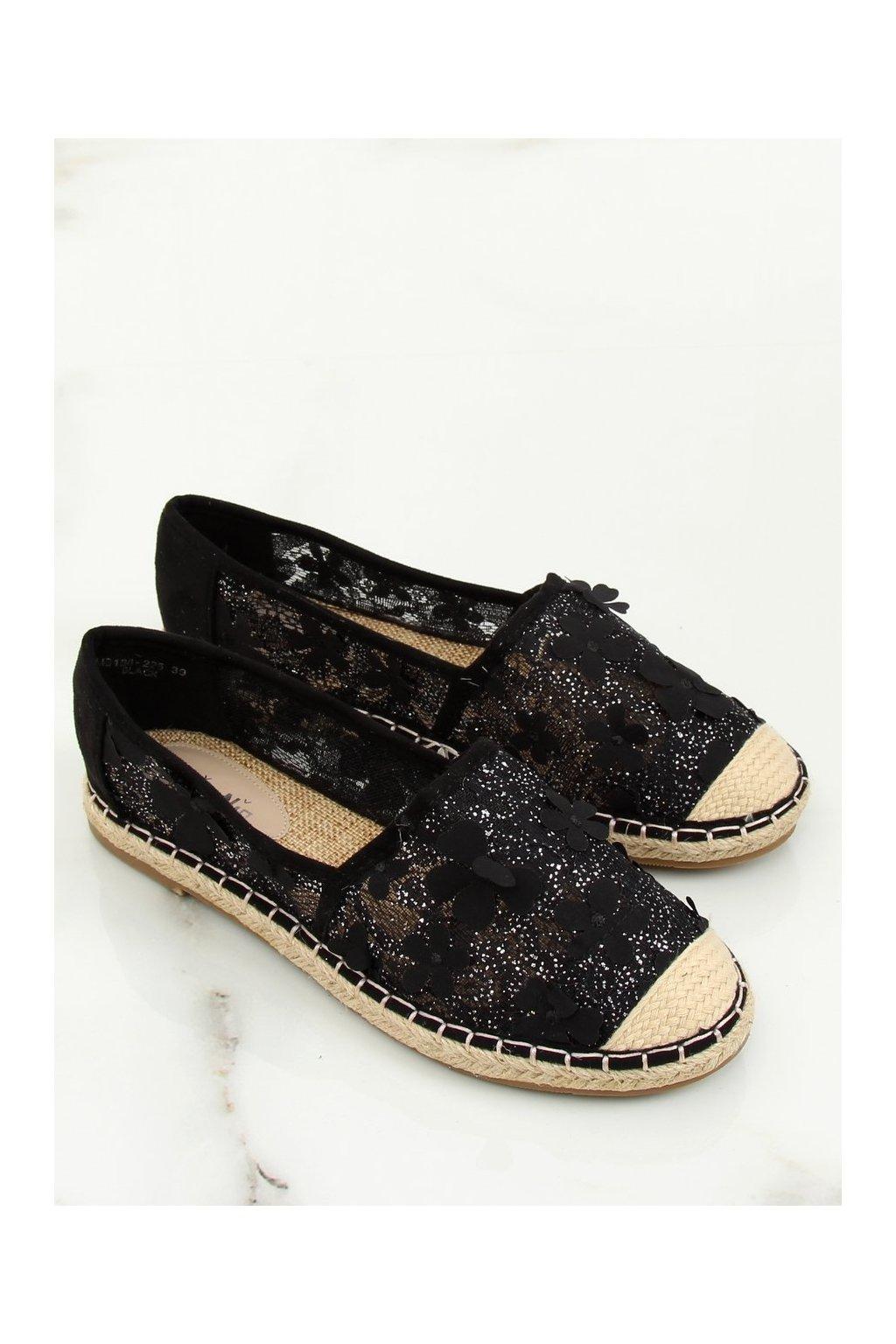 Čierne sandále NJSK MB188-225