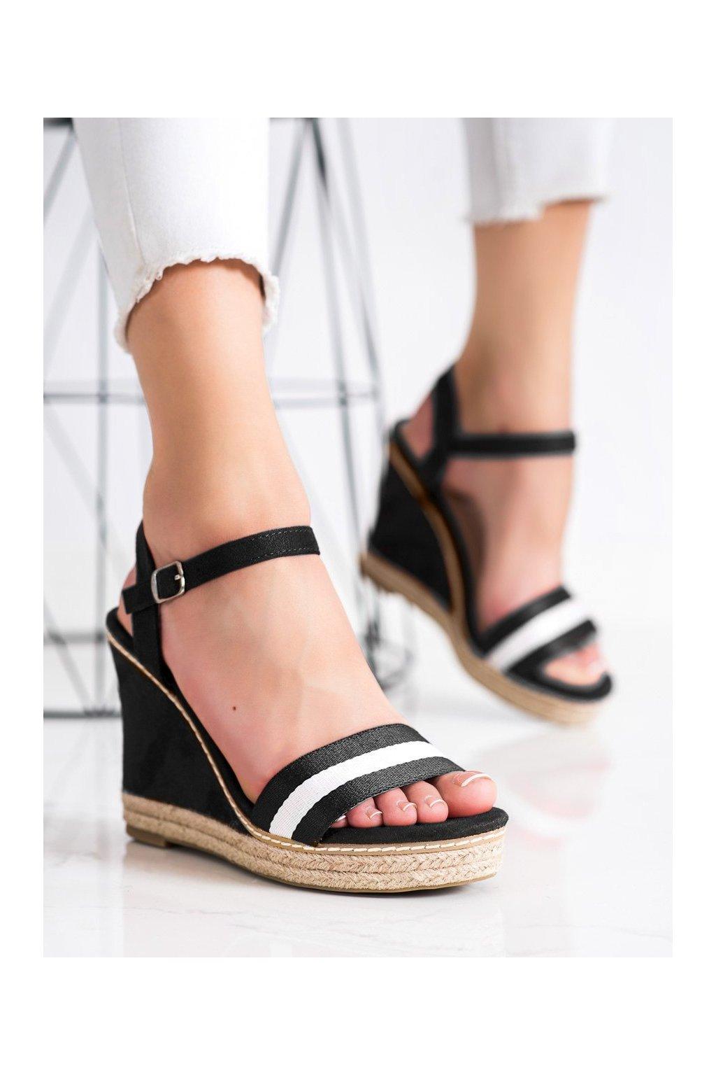 Čierne sandále Kayla kod LL6320B