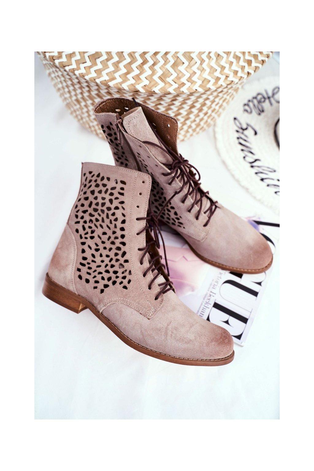 Členkové topánky NJSK 2565