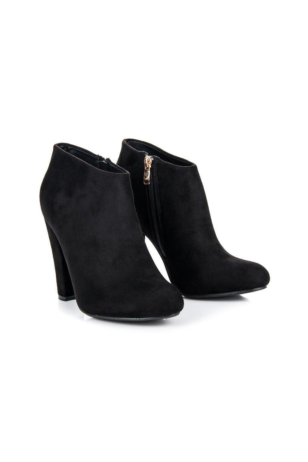 Elegantné členkové topánky Zina F71B
