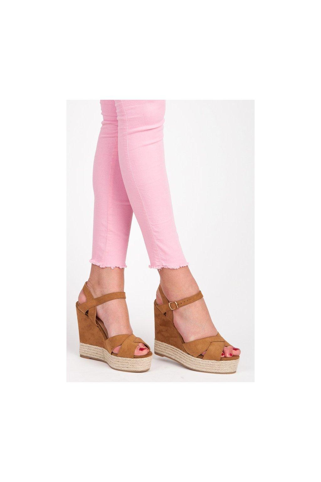 169287 semisove hnede sandale na kline 5a5730c big