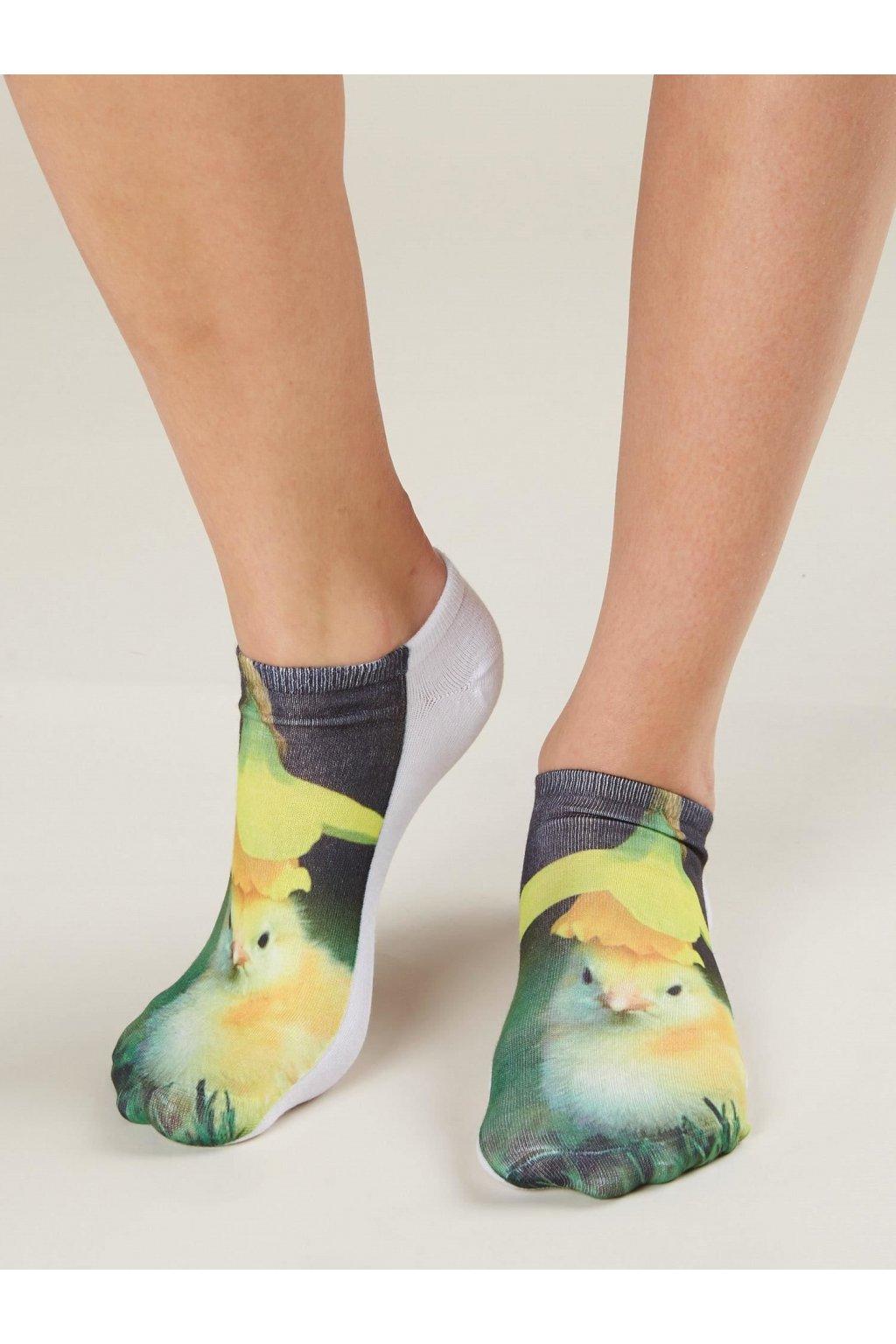 Dámske ponožky kód 7-SR-PWF-01592-6
