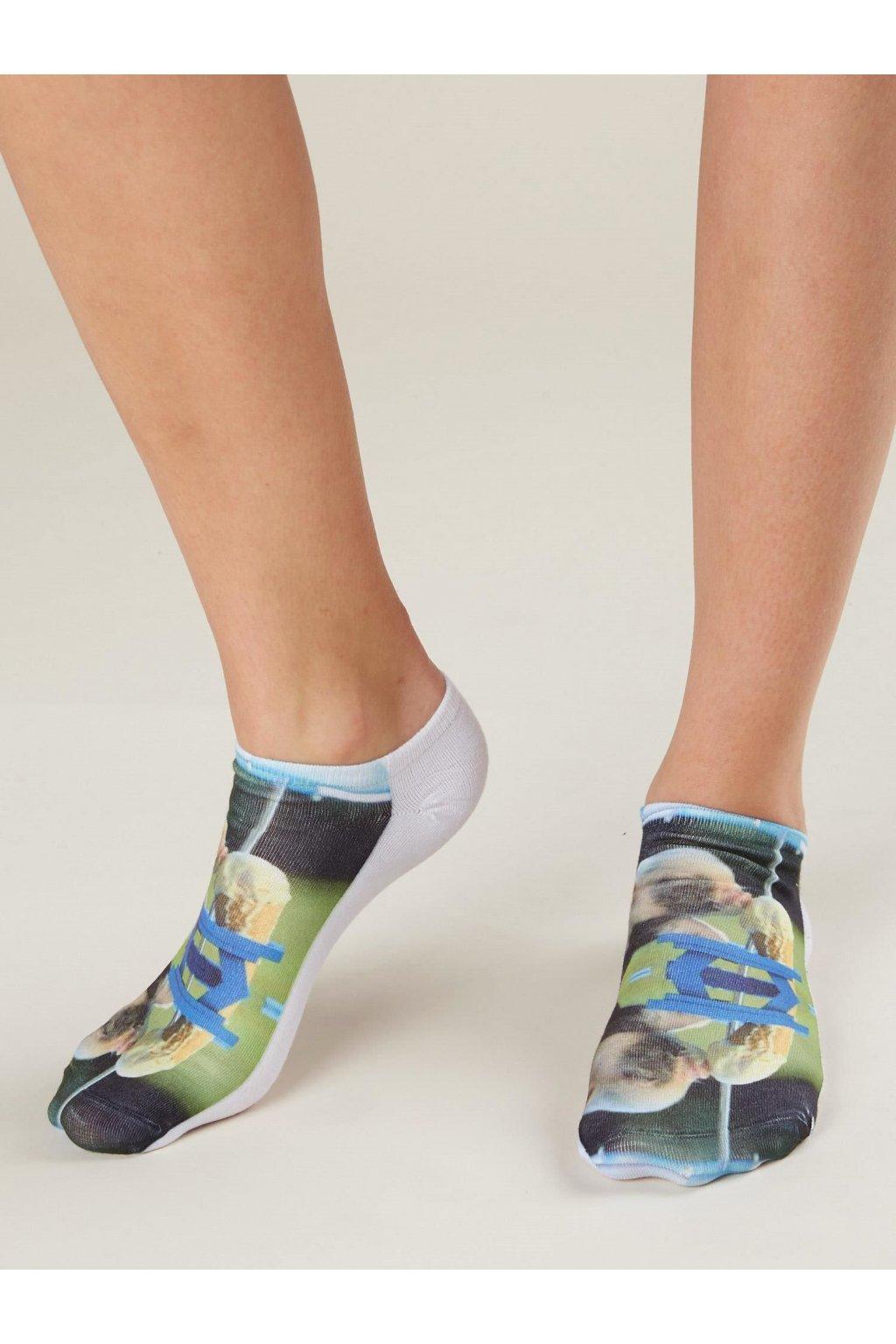 Dámske ponožky kód 7-SR-PWF-01593-5
