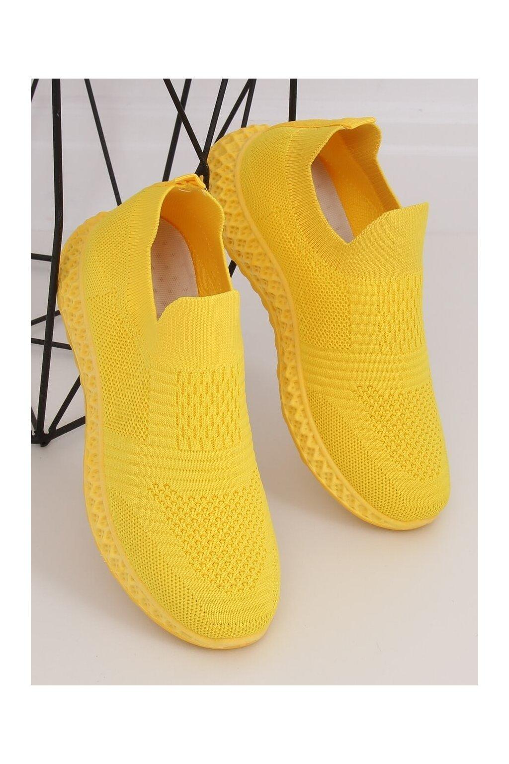 Dámske žlté tenisky NJSK 4388