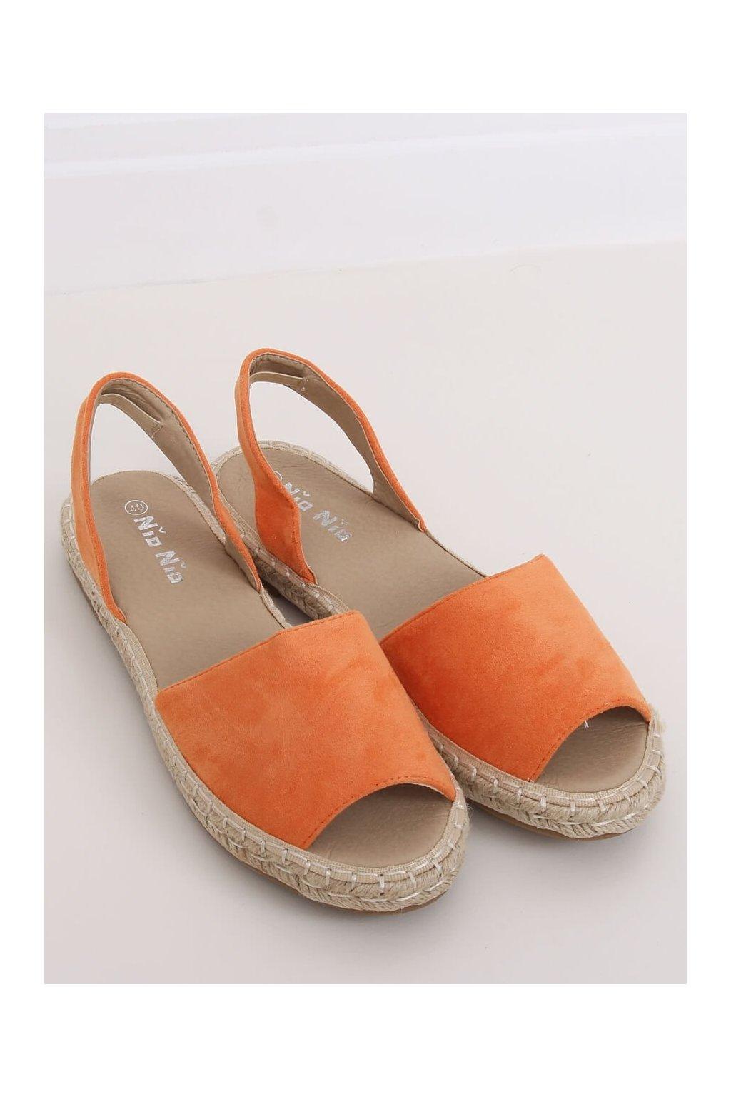 Oranžové sandále NJSK 99-26A