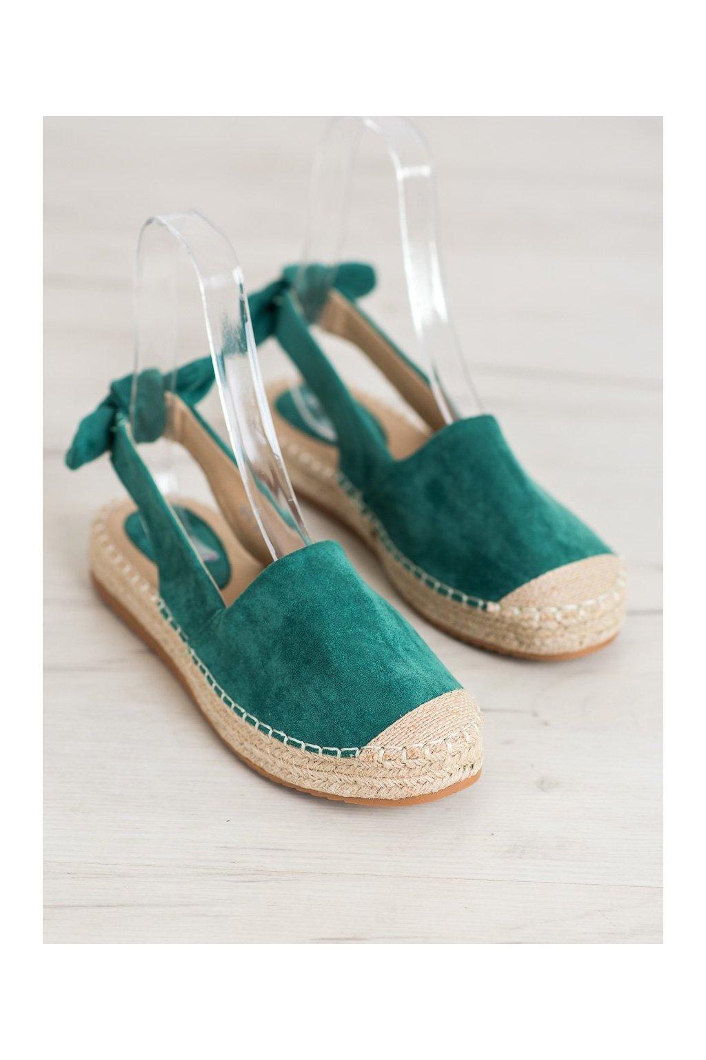 Zelené sandále NJSK 3016GR