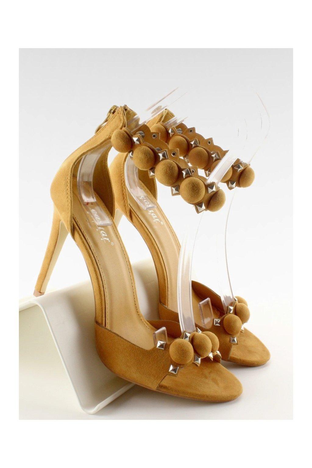 Žlté sandále NJSK LE021Y