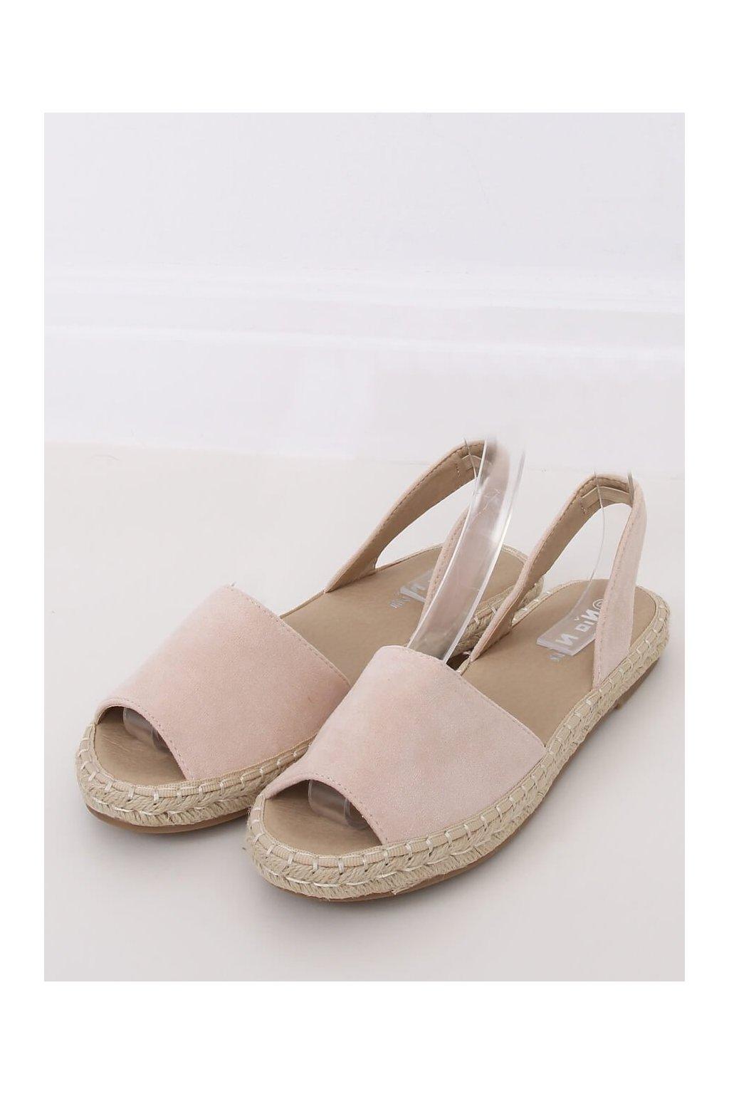 Béžové sandále NJSK 99-26A