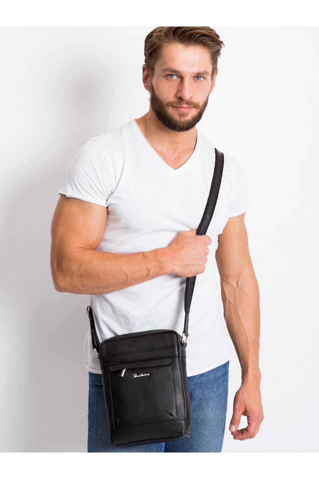 Pánska kabelka čierna kód CE-TR-20672-NDM-PA.15