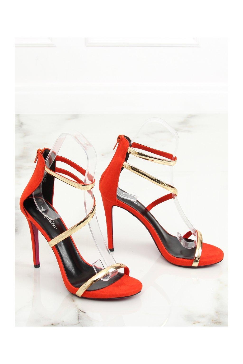273463 zmyselne damske oranzove sandale 988 58 big