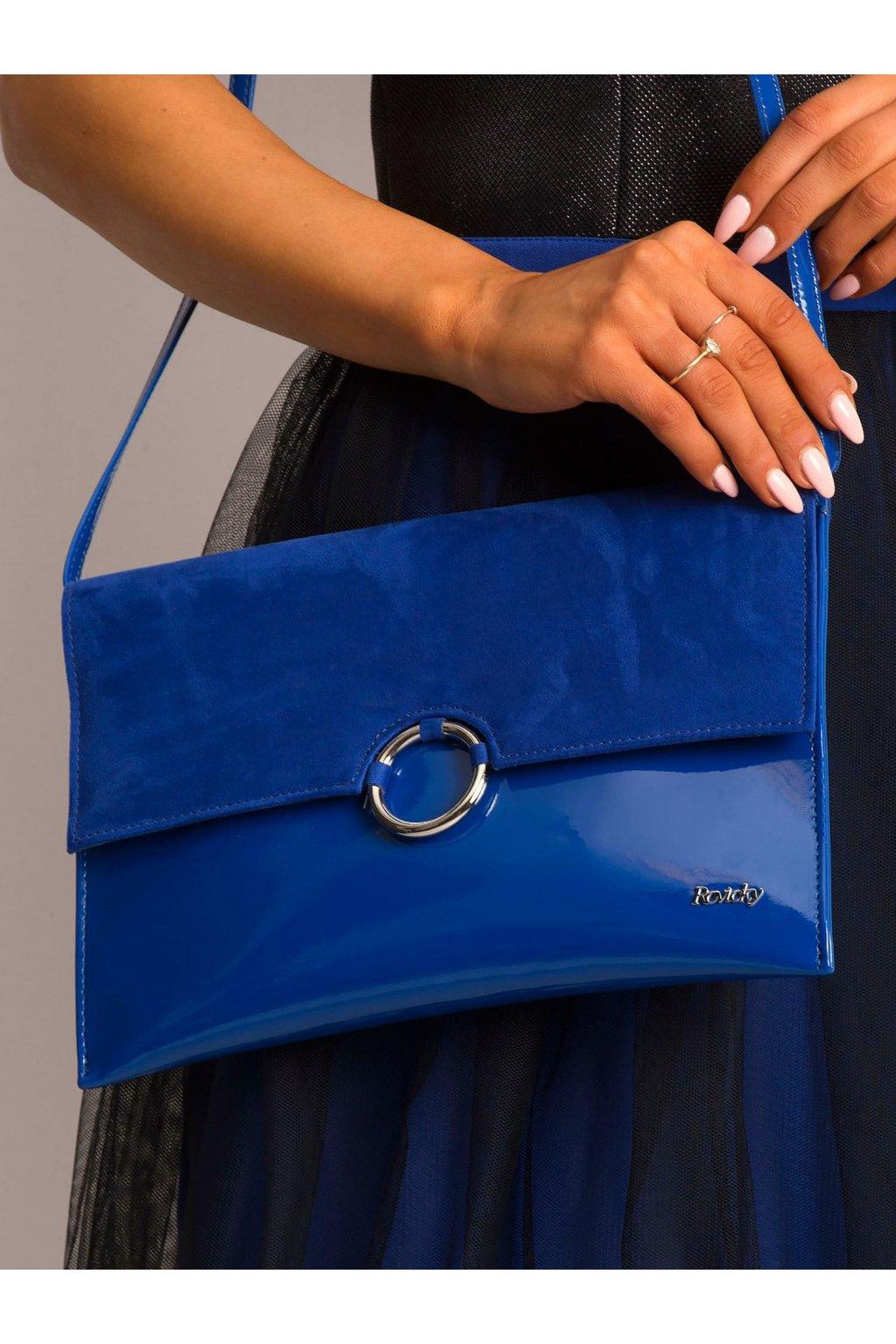 Listová kabelka modrá kód W64A-ex-74Z.52P