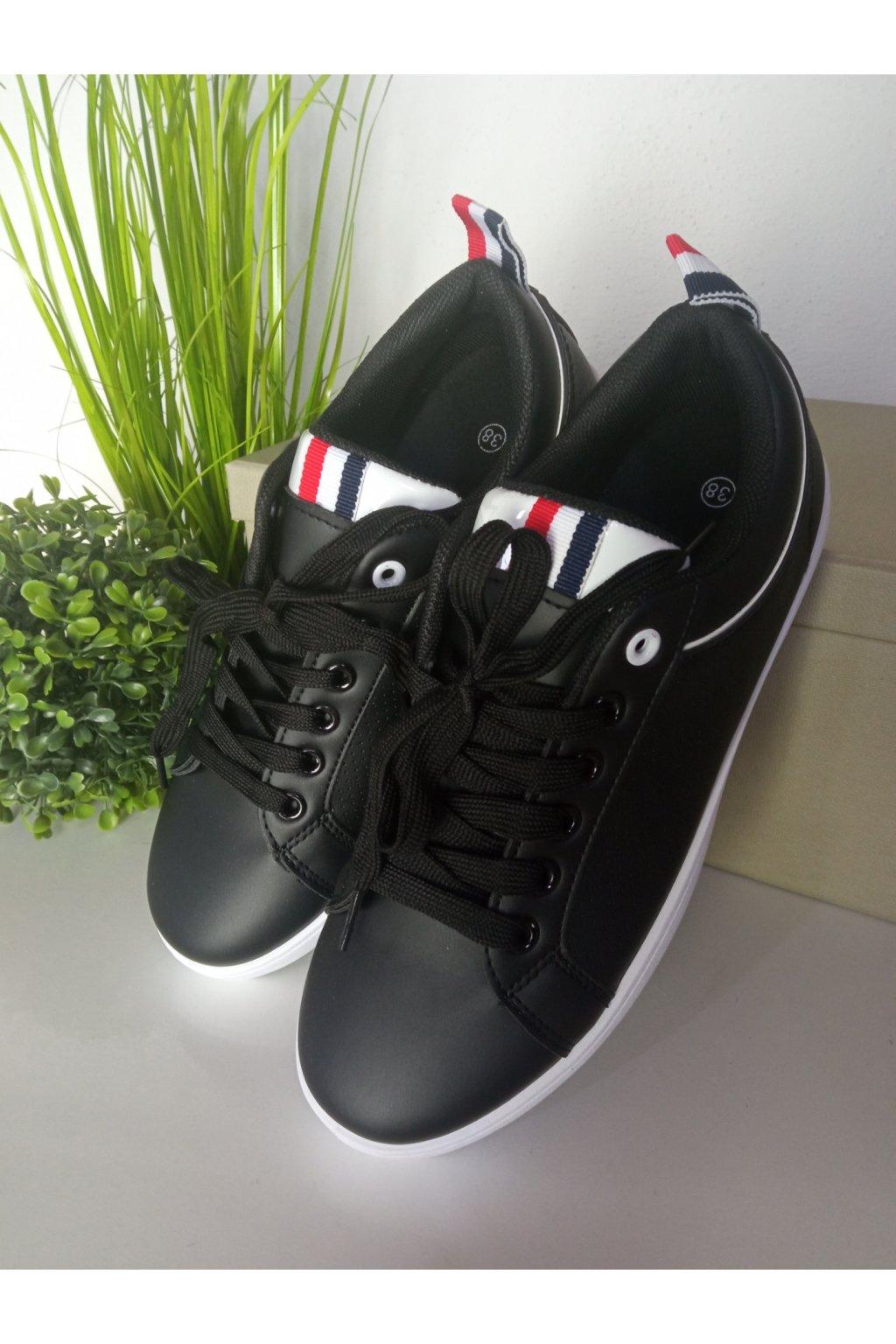 Čierne tenisky NJSK B0-501