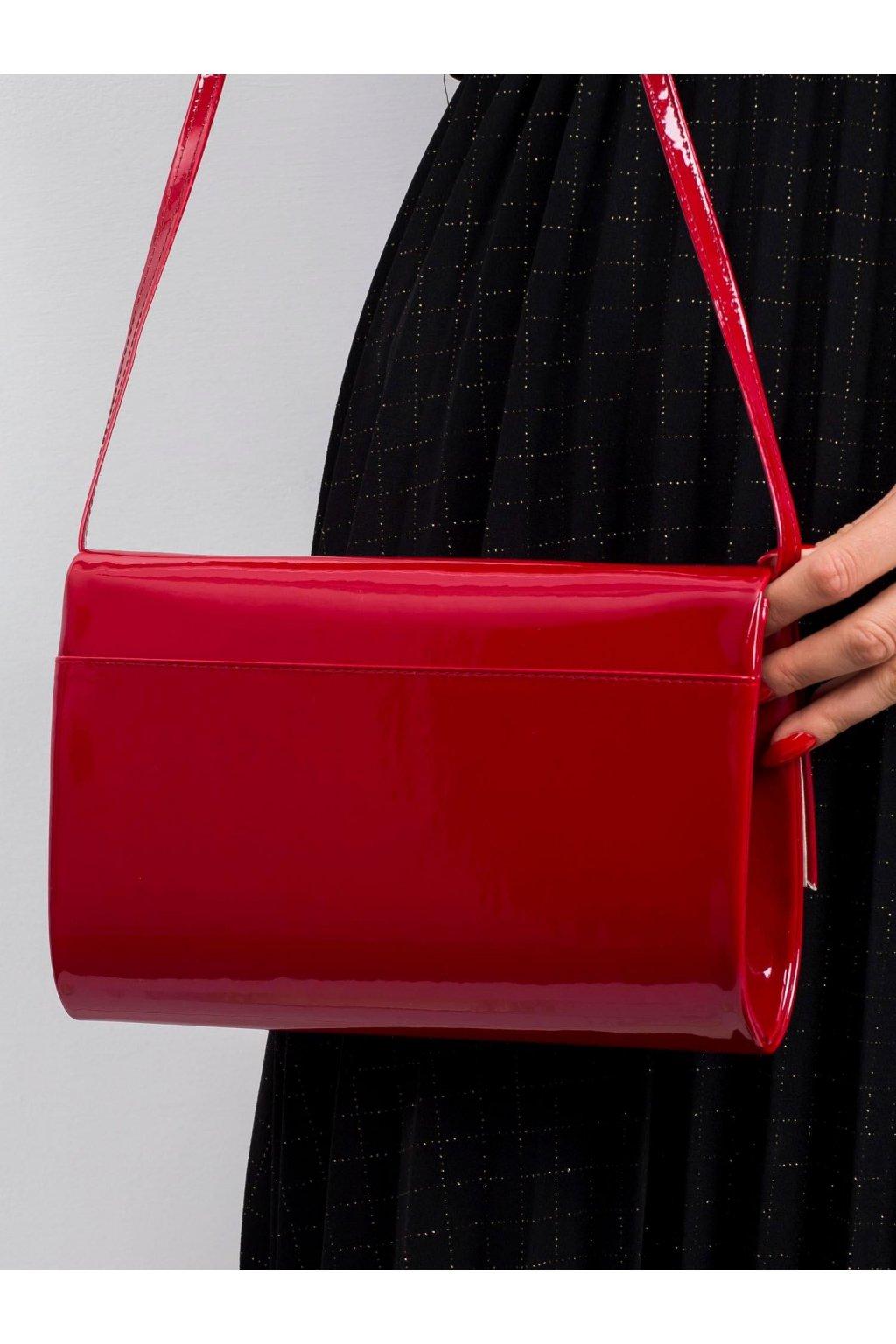 Červená listová kabelka OW-TR-200327.76