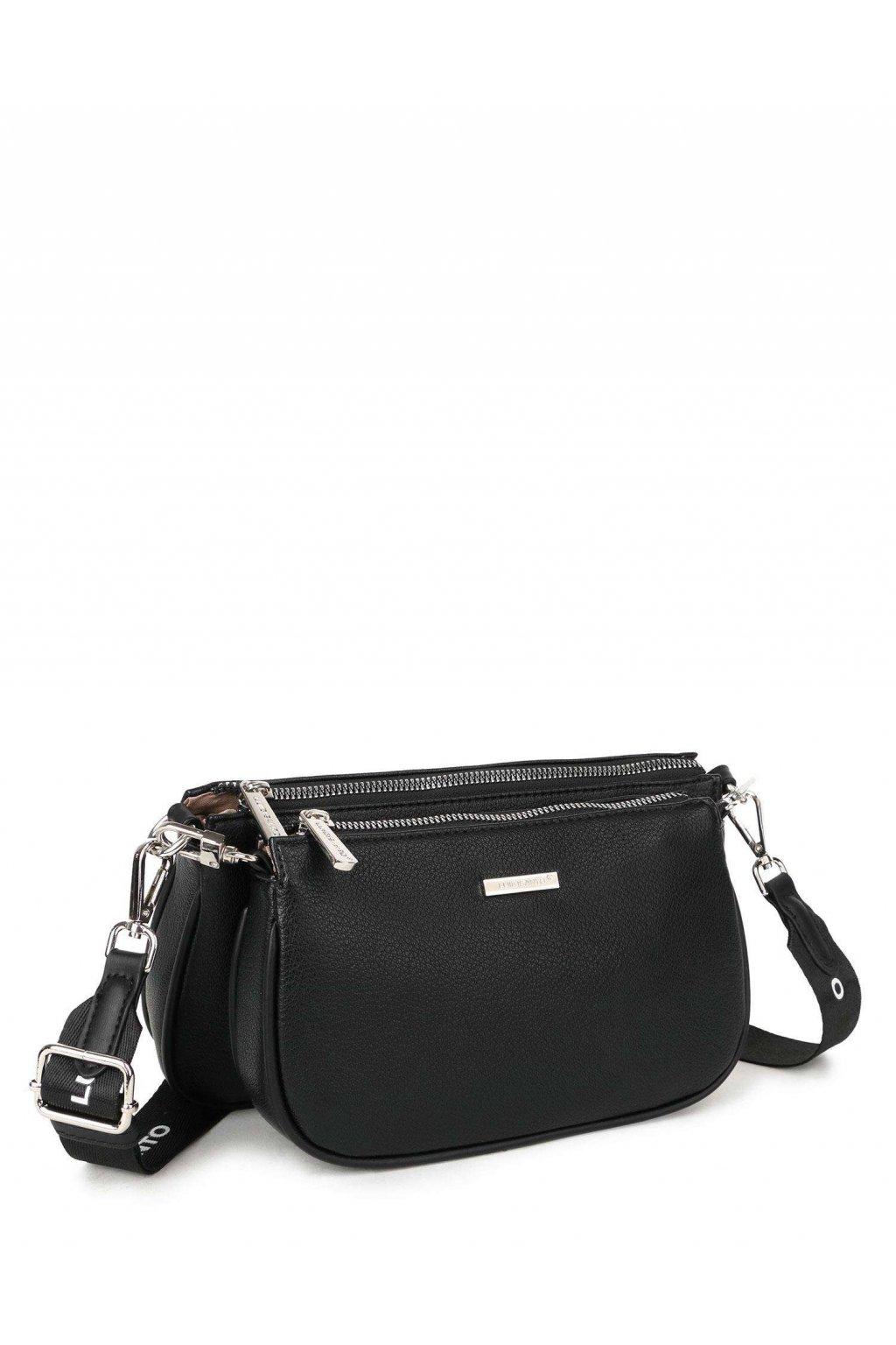 Crossbody kabelka čierna kód OW-TR-6023