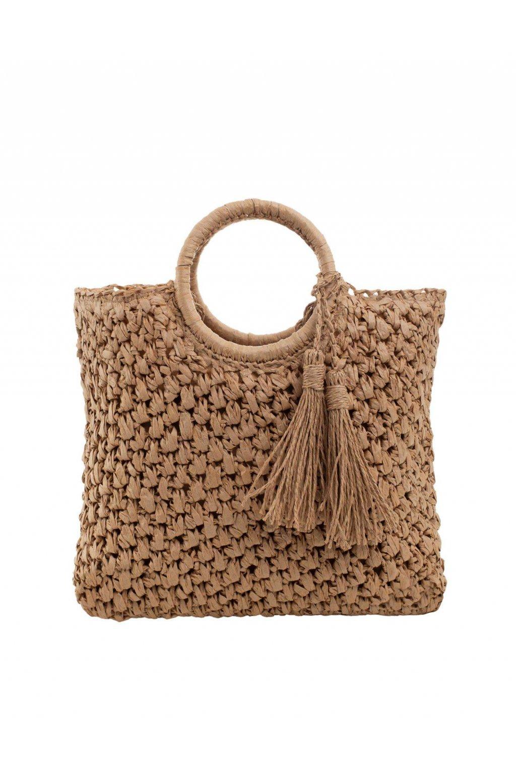 Plážová kabelka tmavo-béžová kód YP-TR-ax4283.26
