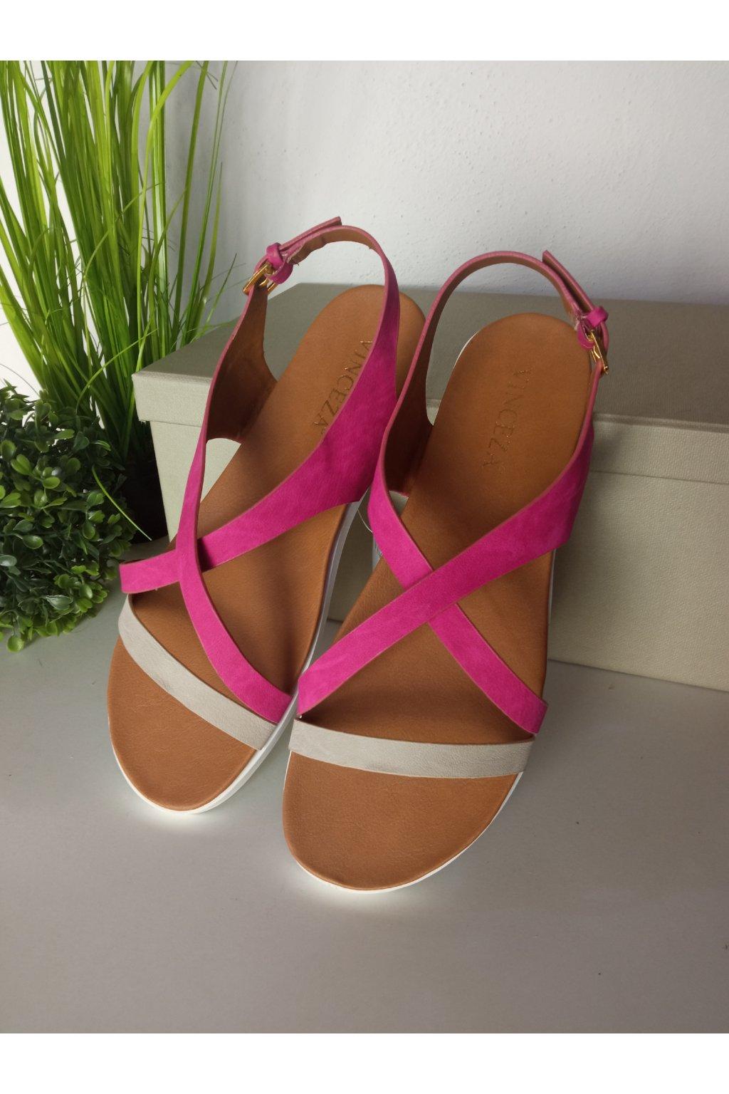 Ružové sandále NJSK JOL17-9910P