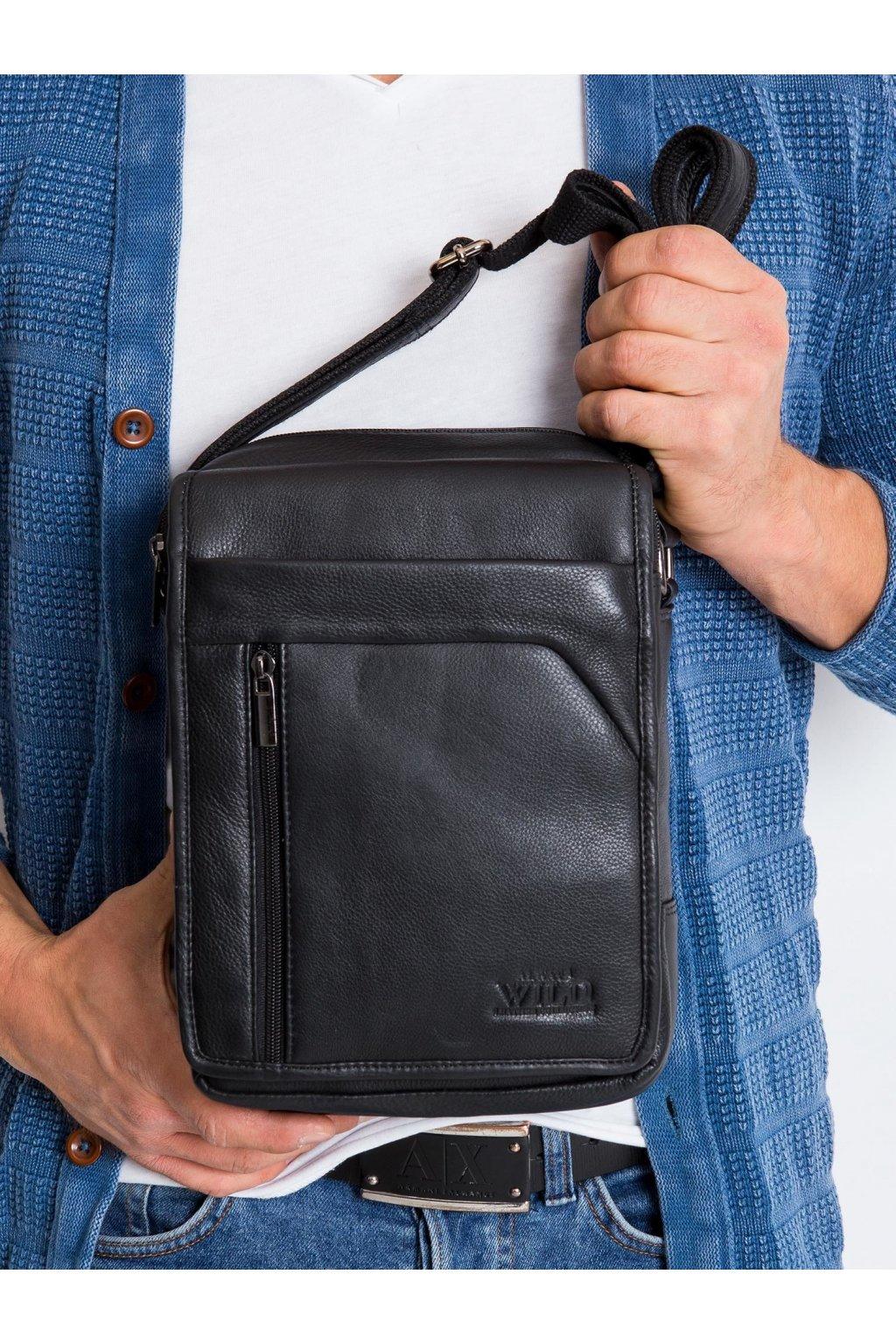 Pánska kabelka čierna kód CE-TR-5747-NDM.97
